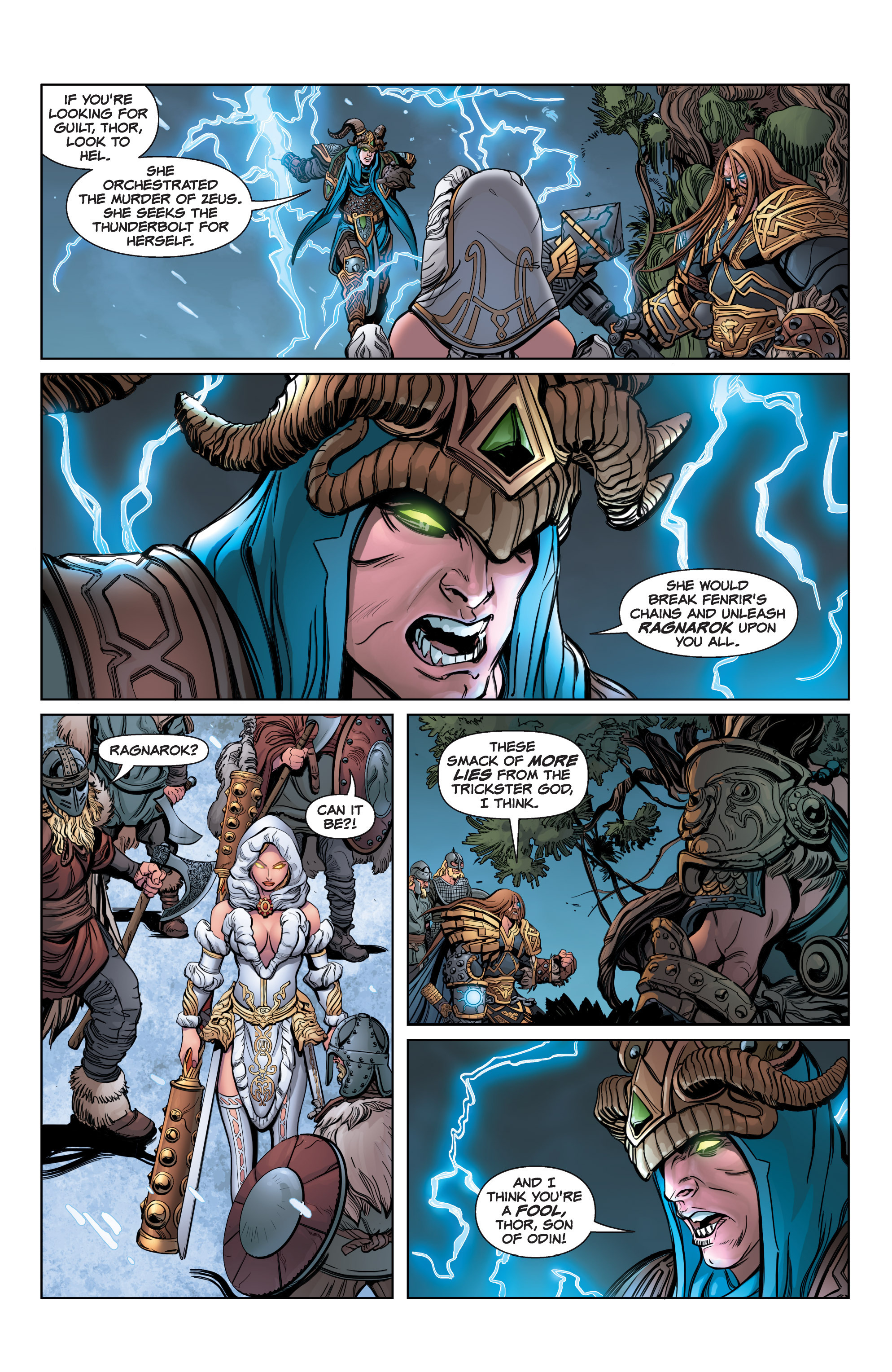 Read online SMITE: The Pantheon War comic -  Issue #3 - 10