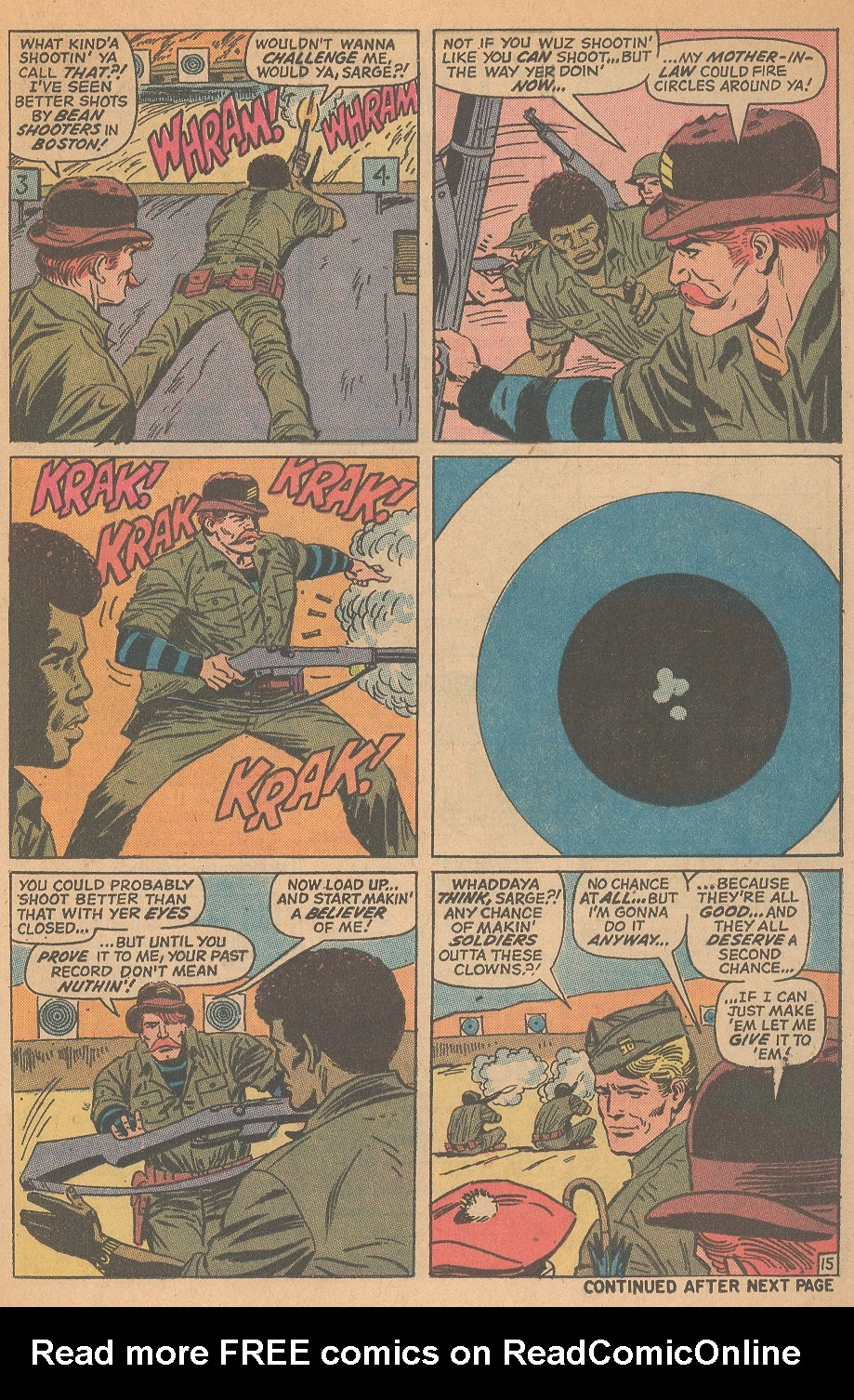 Read online Sgt. Fury comic -  Issue #98 - 21
