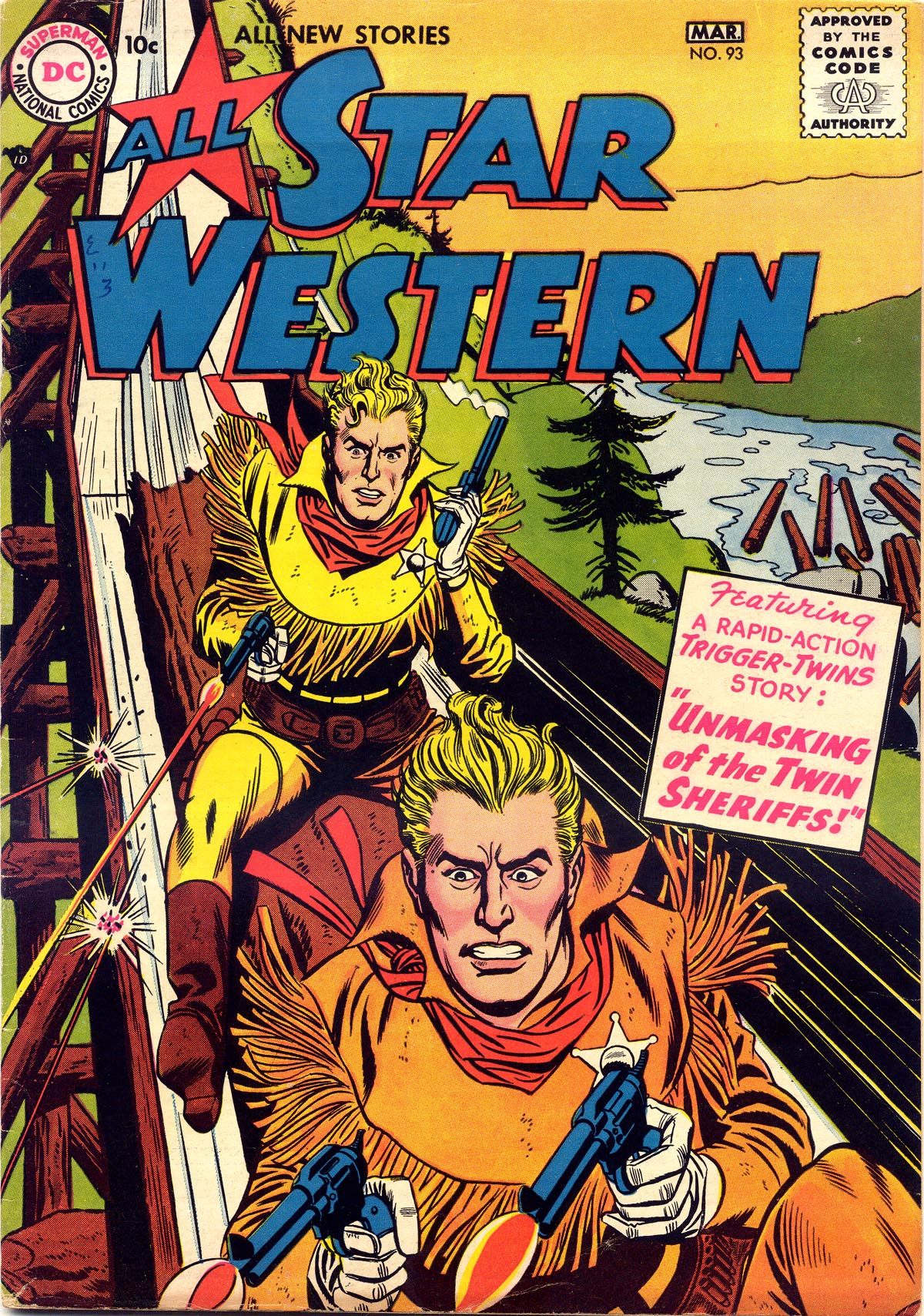 Read online All-Star Western (1951) comic -  Issue #93 - 1