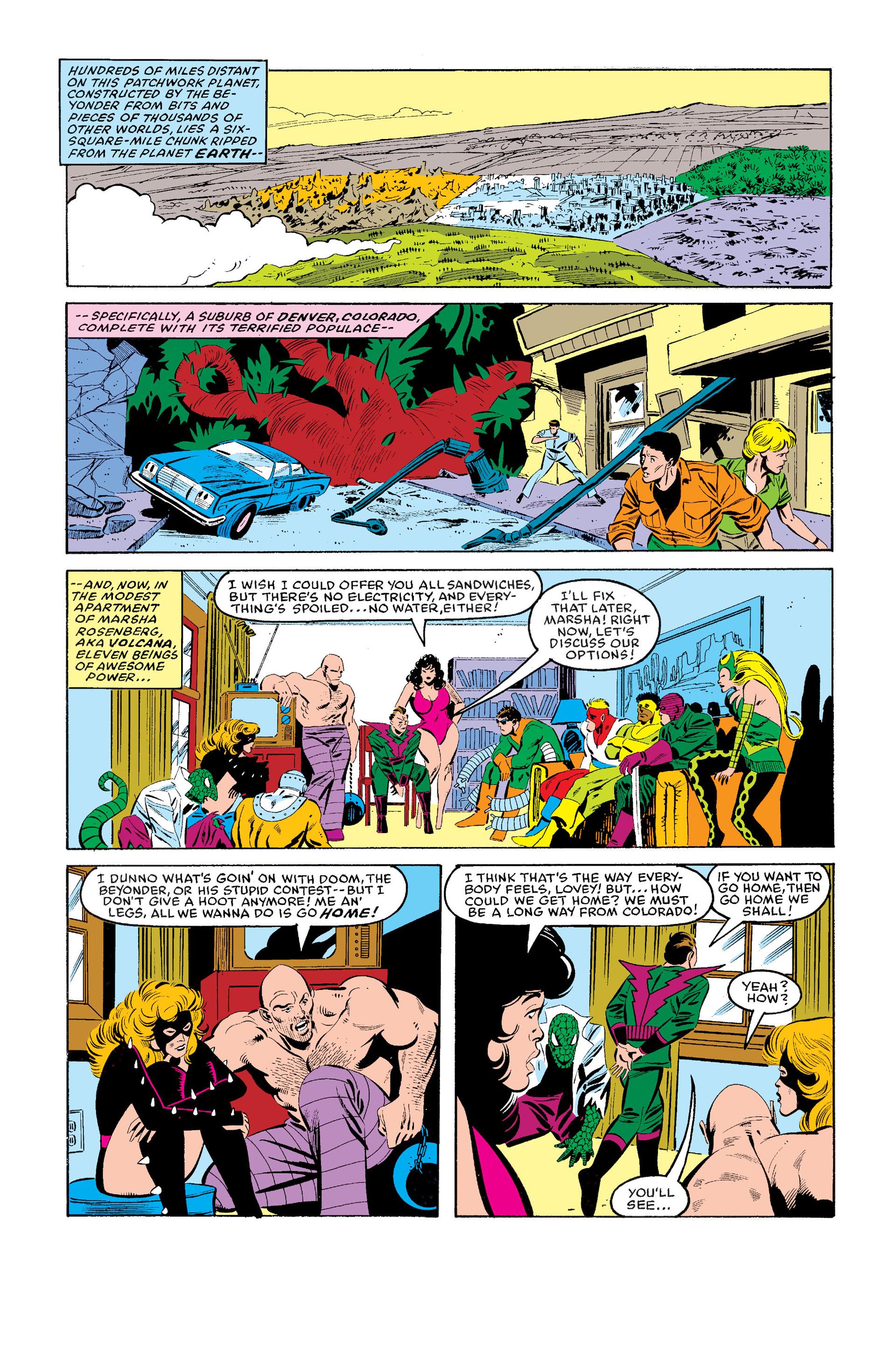 Read online Secret Wars (1985) comic -  Issue #11 - 9