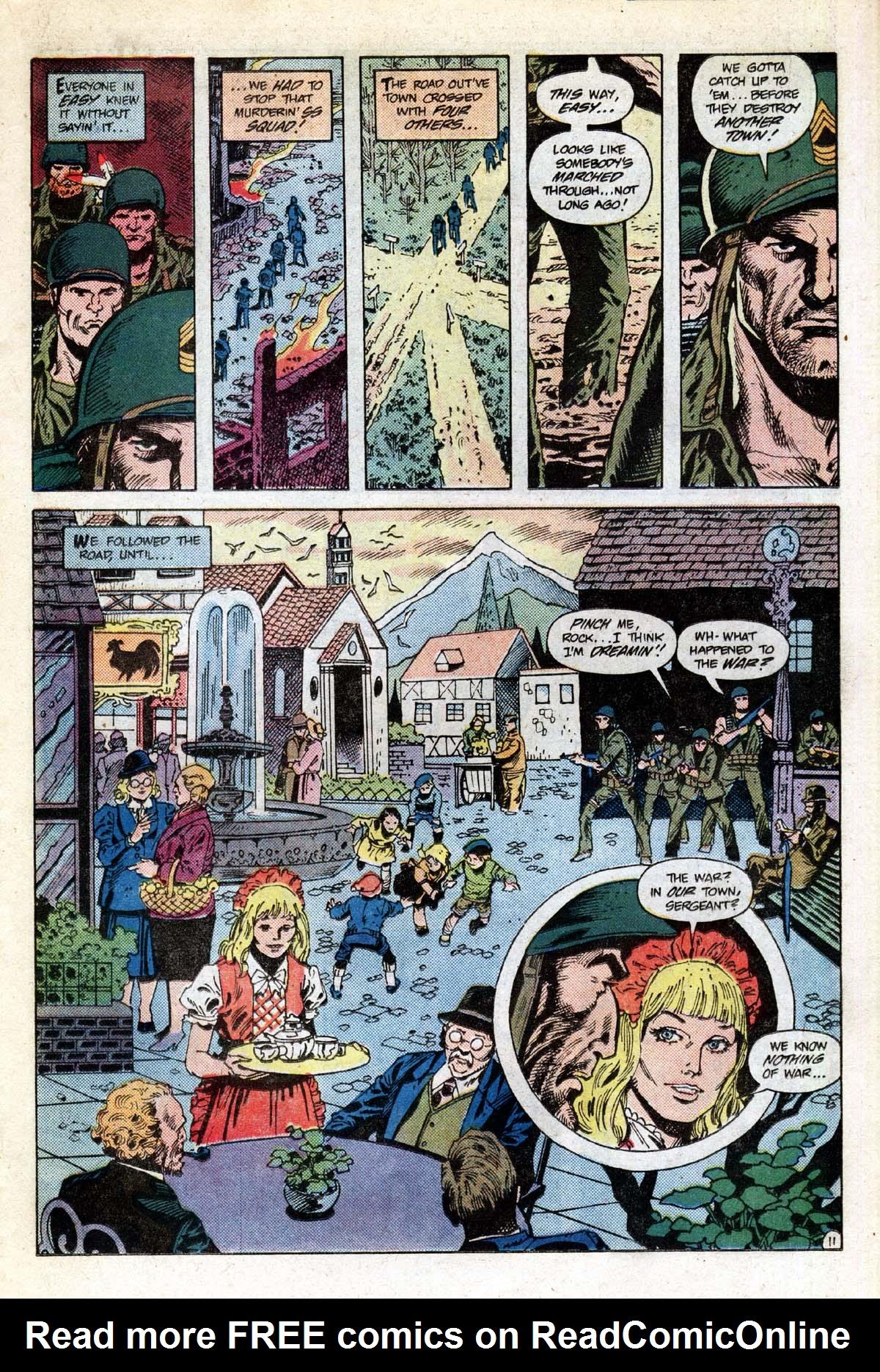 Read online Sgt. Rock comic -  Issue #391 - 12