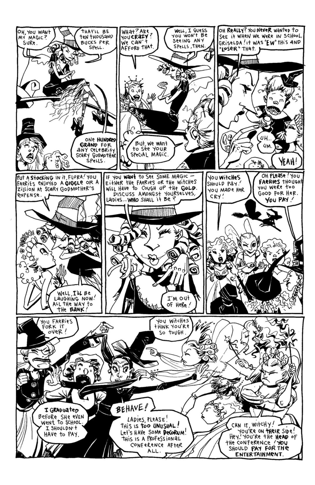 Read online Scary Godmother Comic Book Stories comic -  Issue # TPB - 206