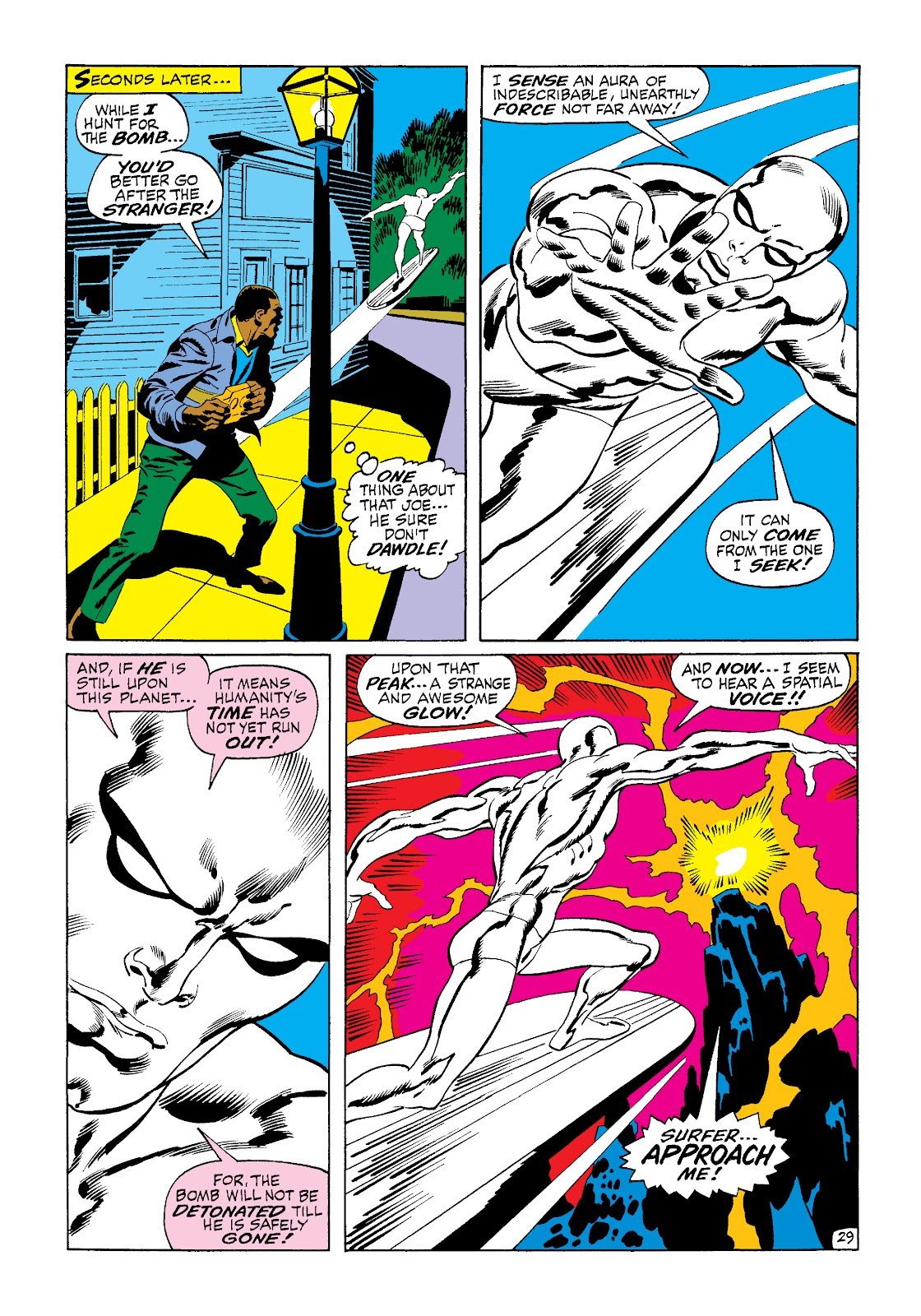 Read online Marvel Masterworks: The Silver Surfer comic - Issue # TPB 1 (Part 2) - 97