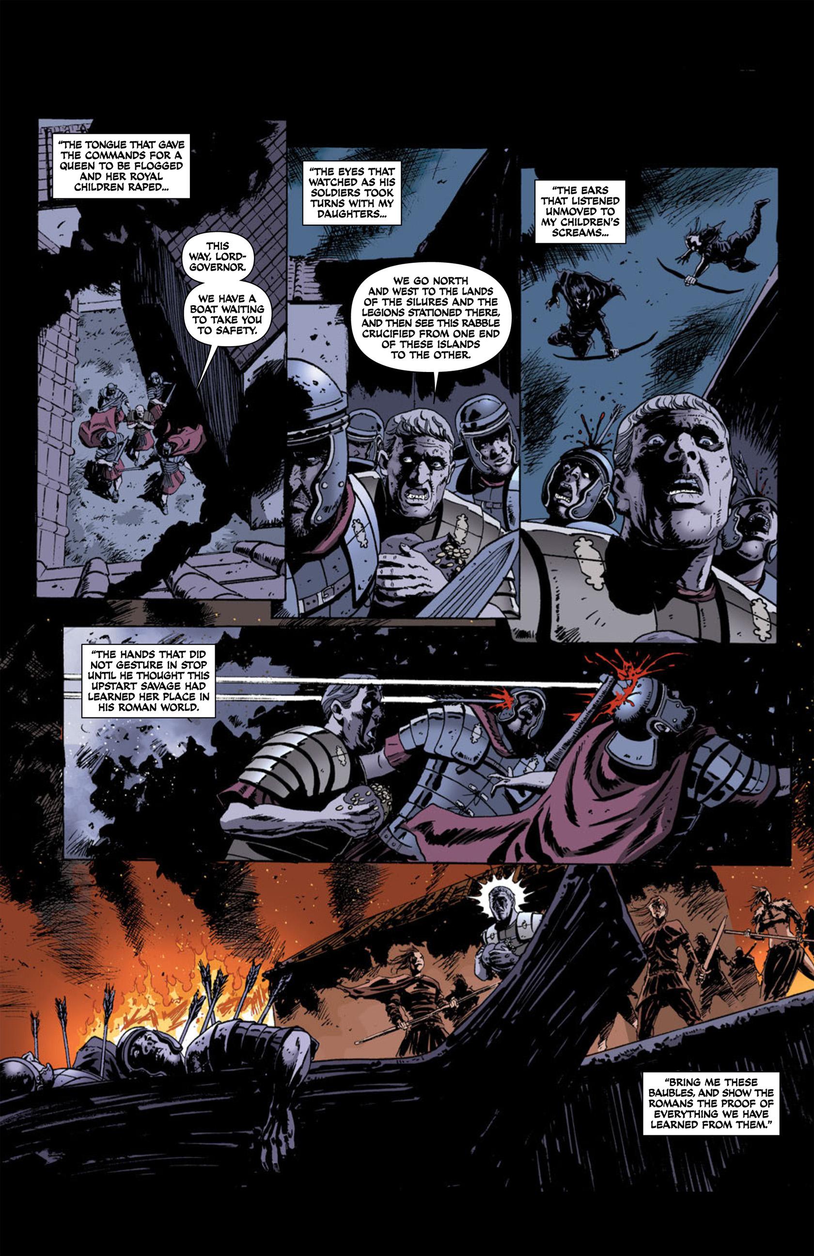 Read online Aquila comic -  Issue #2 - 9