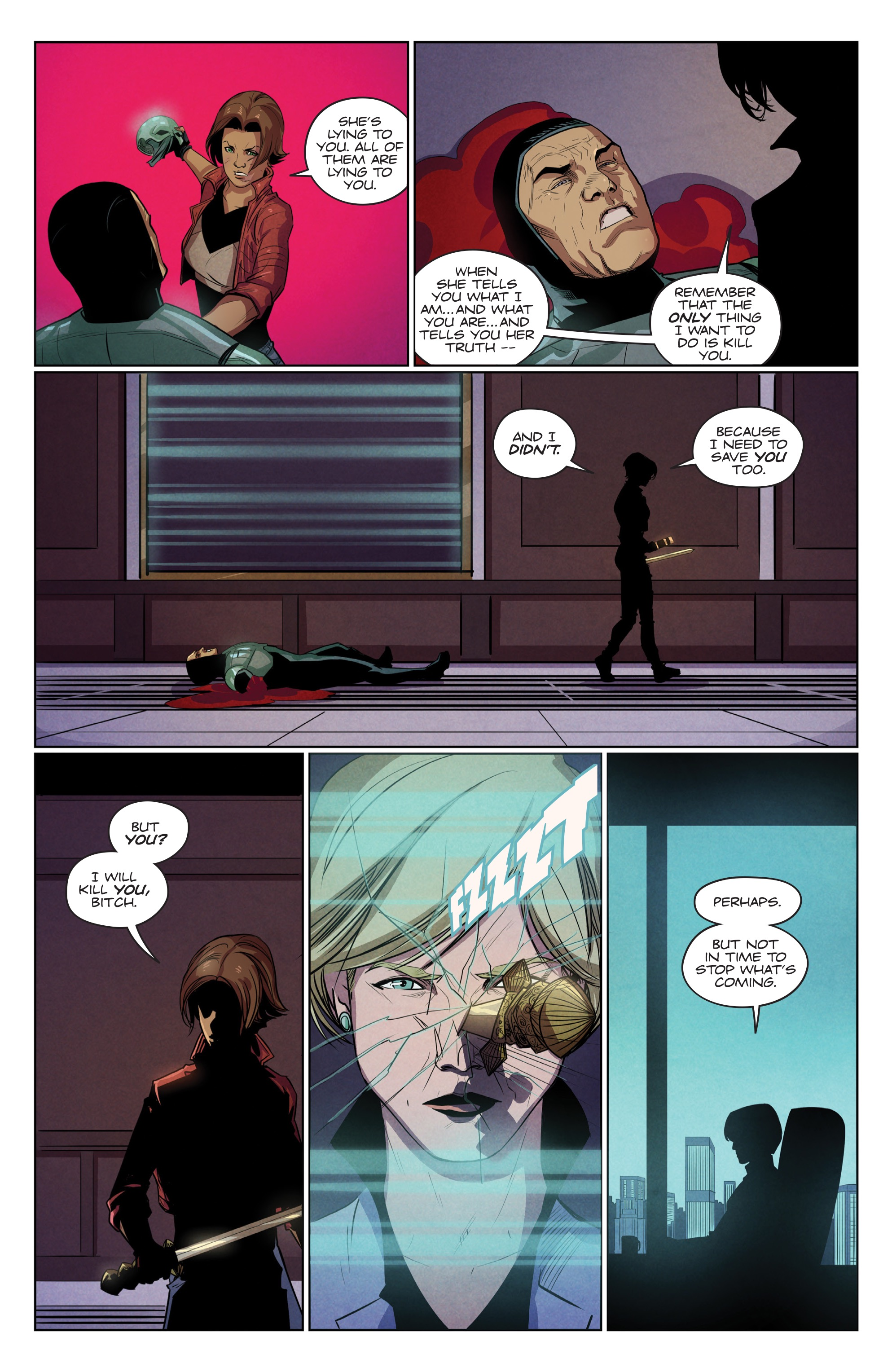 Read online Romulus comic -  Issue #4 - 12