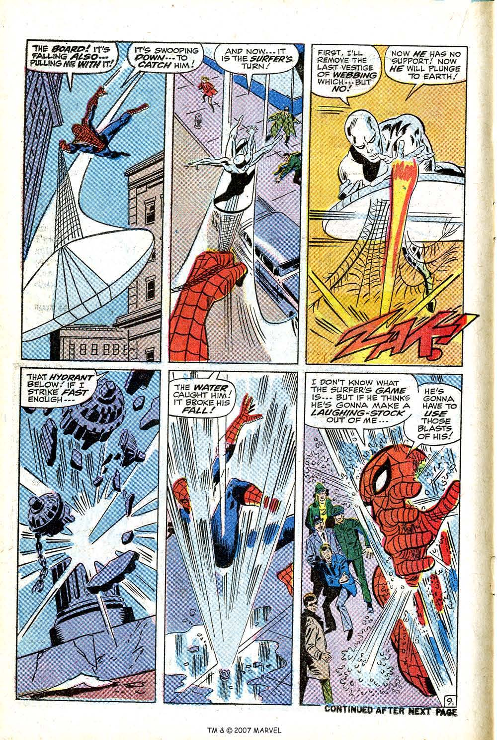 Read online Silver Surfer (1968) comic -  Issue #14 - 14