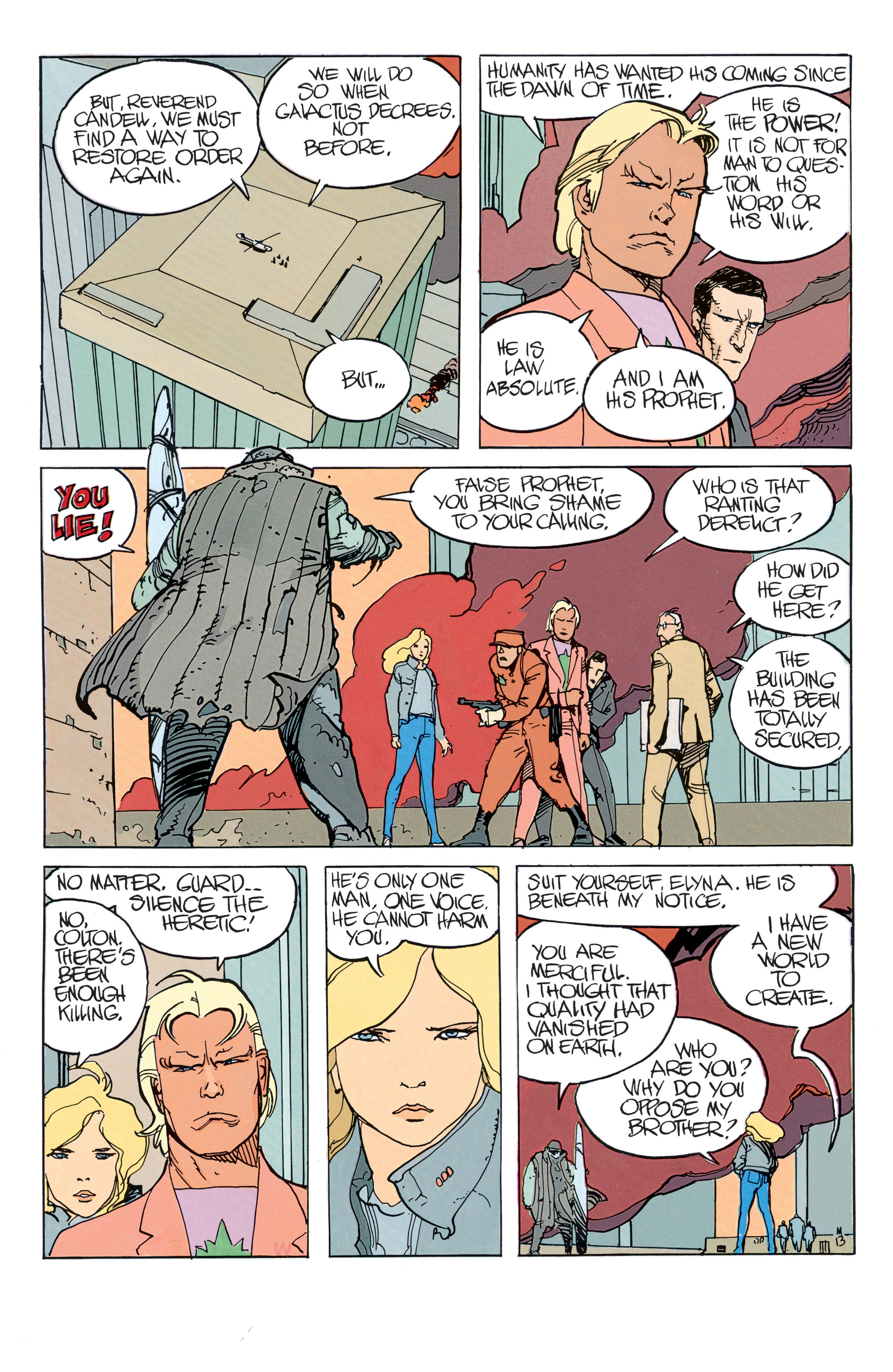 Read online Silver Surfer: Parable comic -  Issue # TPB - 18