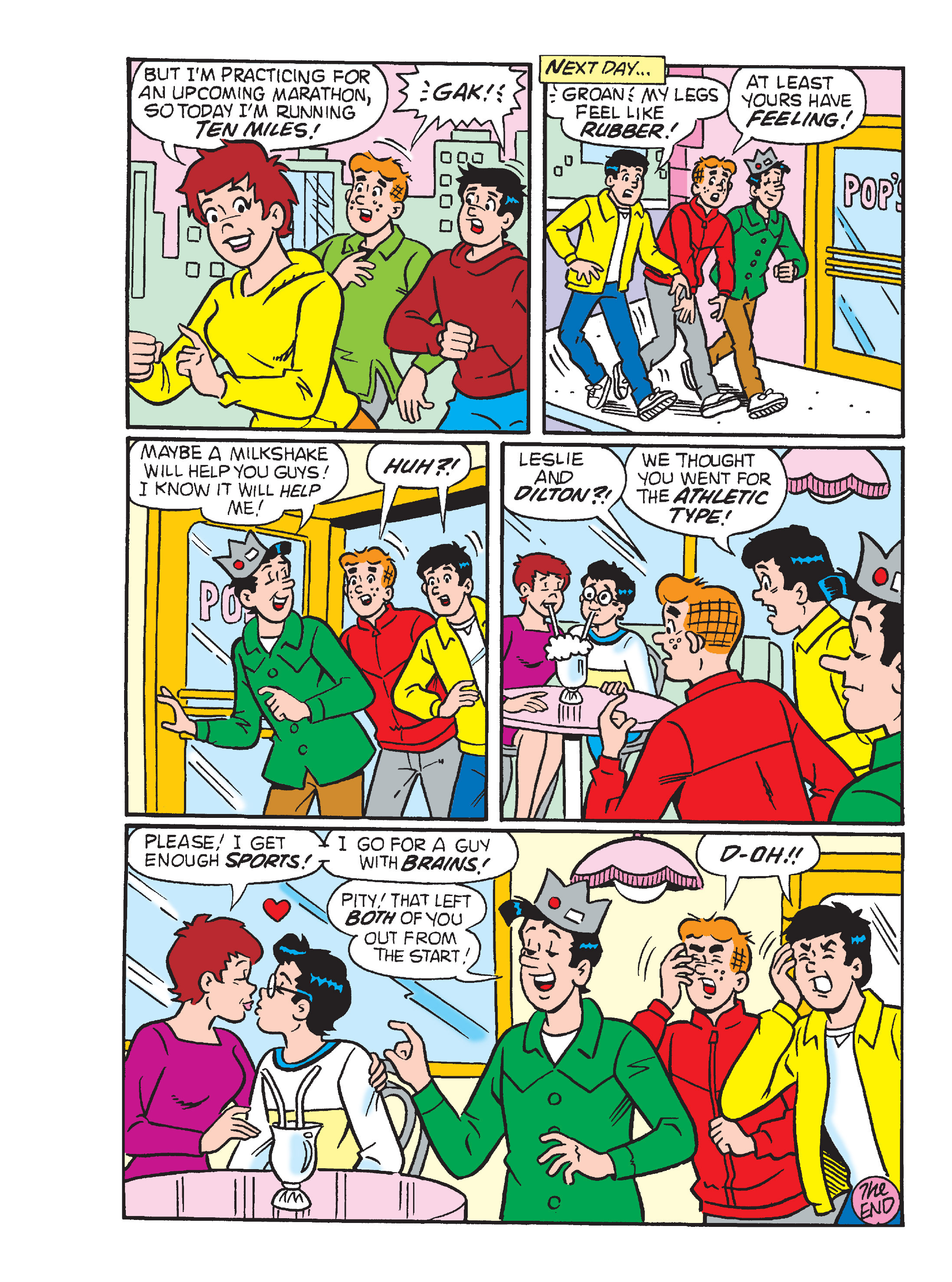 Read online Archie's Funhouse Double Digest comic -  Issue #17 - 119