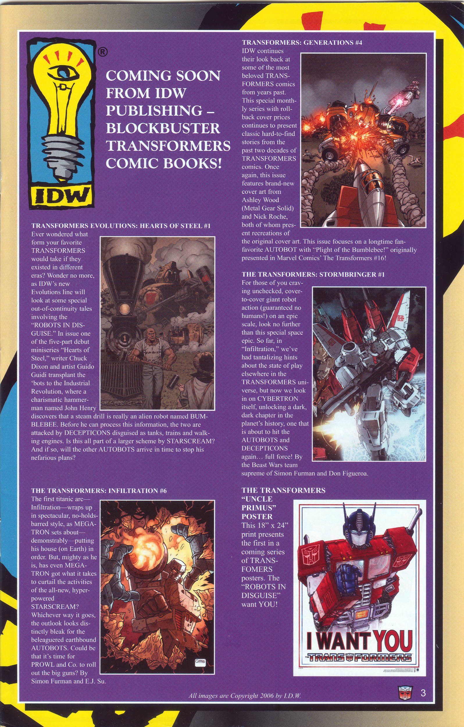 Read online Transformers: Collectors' Club comic -  Issue #9 - 3