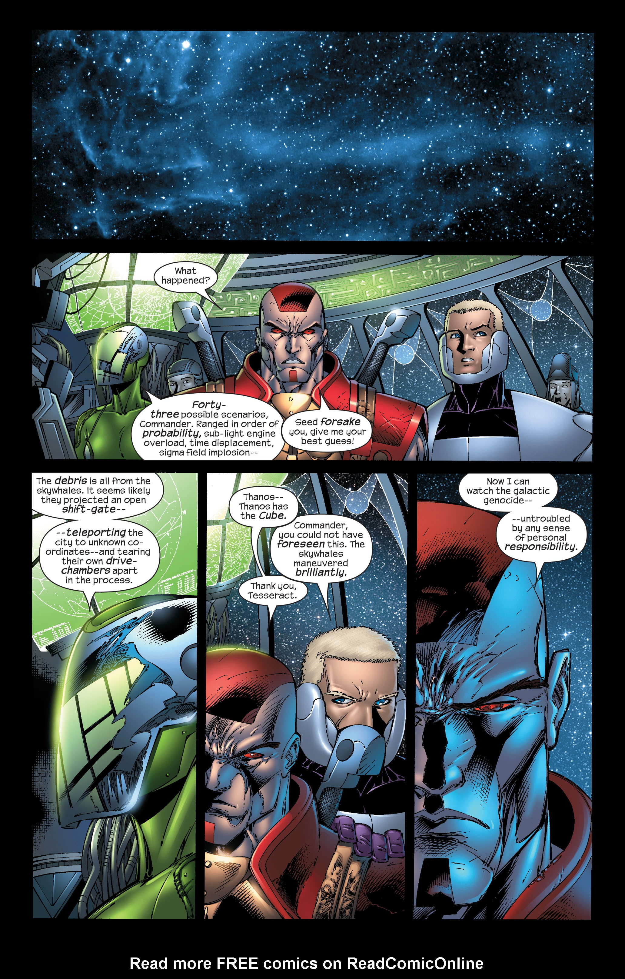 Read online Ultimate Fantastic Four (2004) comic -  Issue #51 - 6