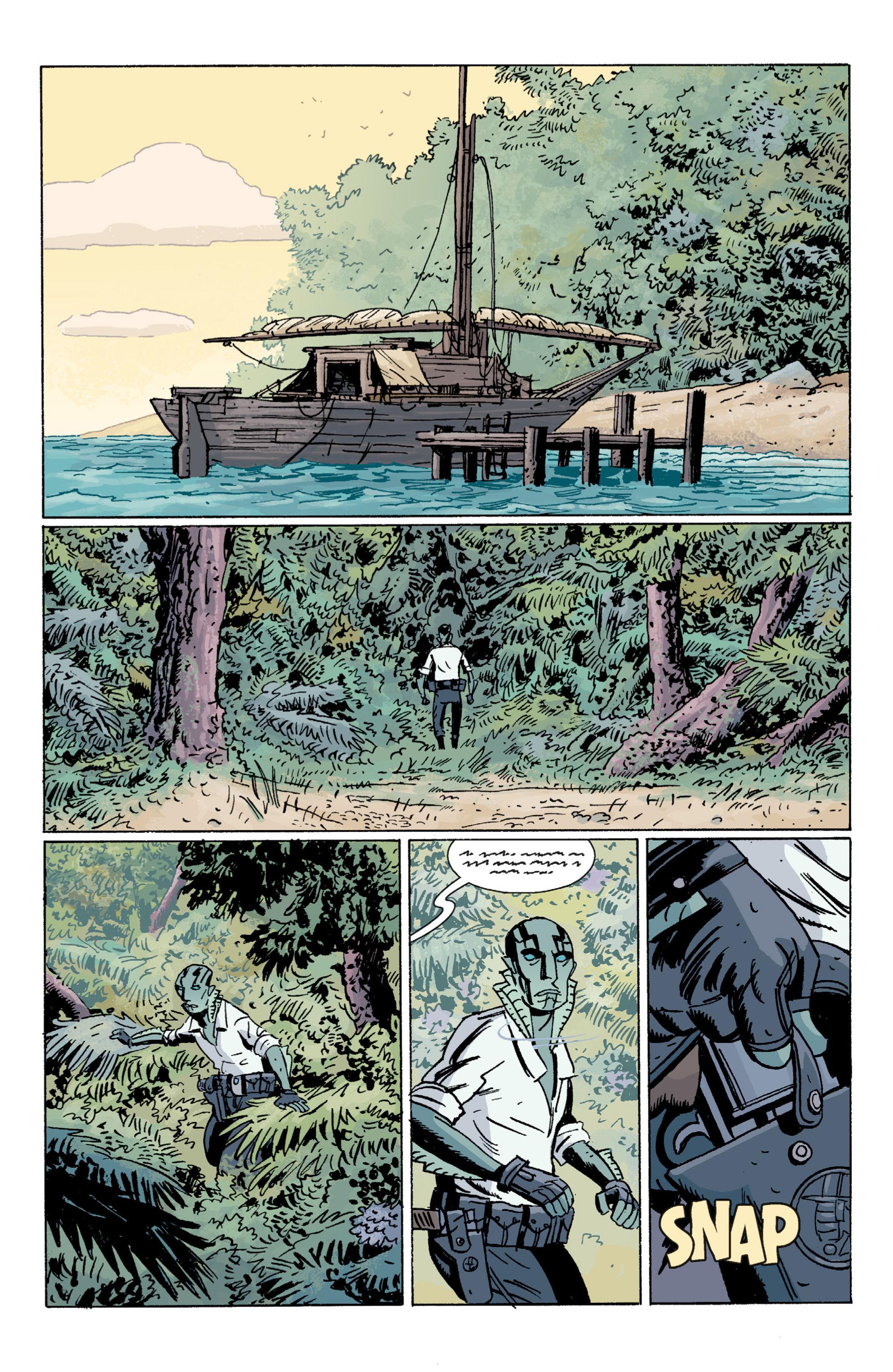 Read online B.P.R.D. (2003) comic -  Issue # TPB 7 - 68