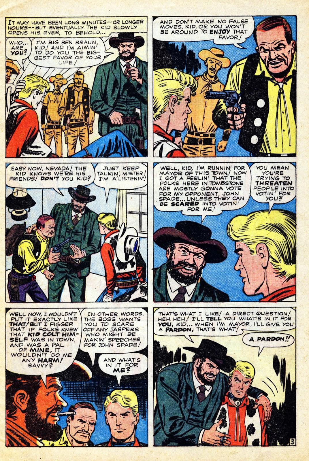 Gunsmoke Western issue 65 - Page 5