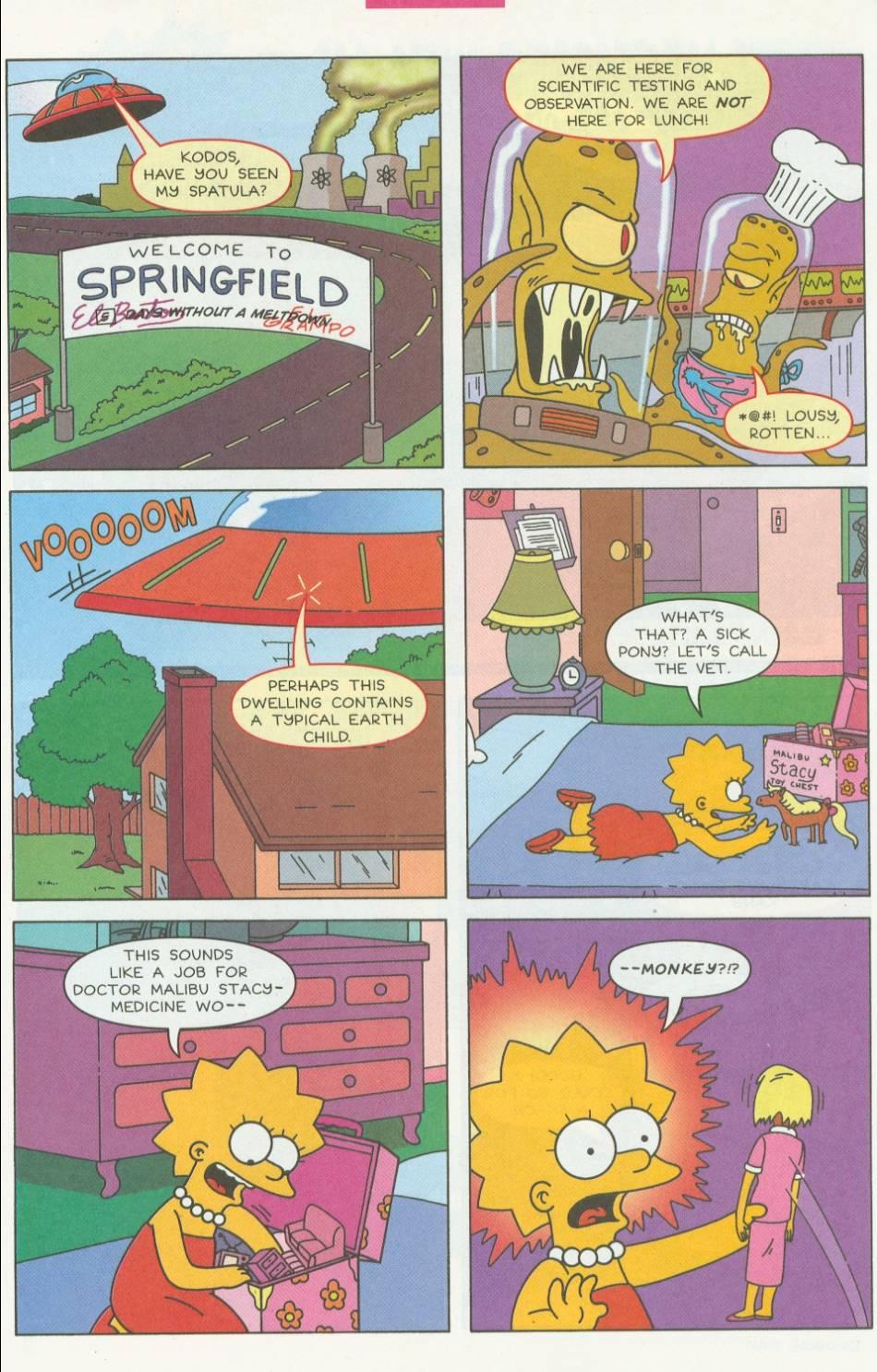 Read online Simpsons Comics Presents Bart Simpson comic -  Issue #1 - 21