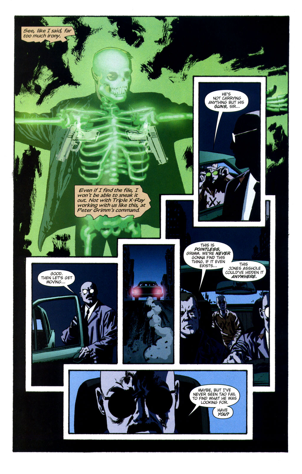 Read online Sleeper comic -  Issue #9 - 10