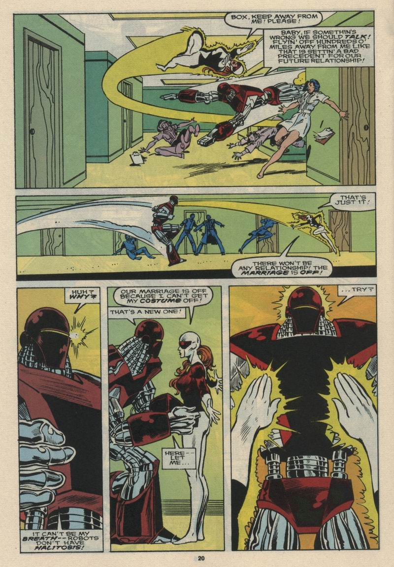 Read online Alpha Flight (1983) comic -  Issue #66 - 21