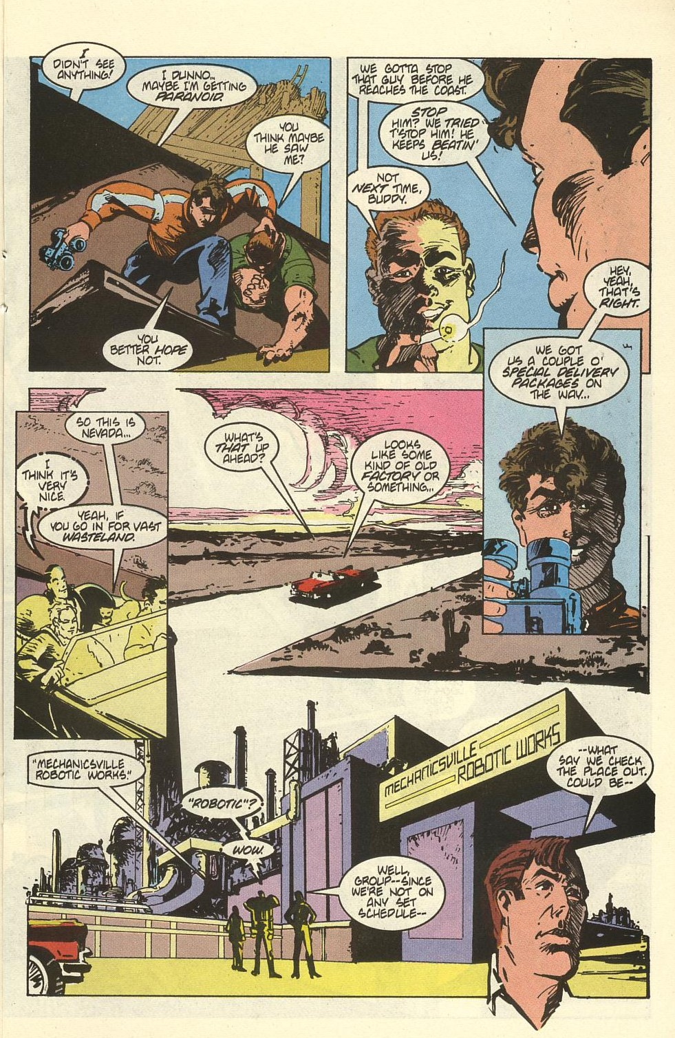 Read online American Flagg! comic -  Issue #41 - 17