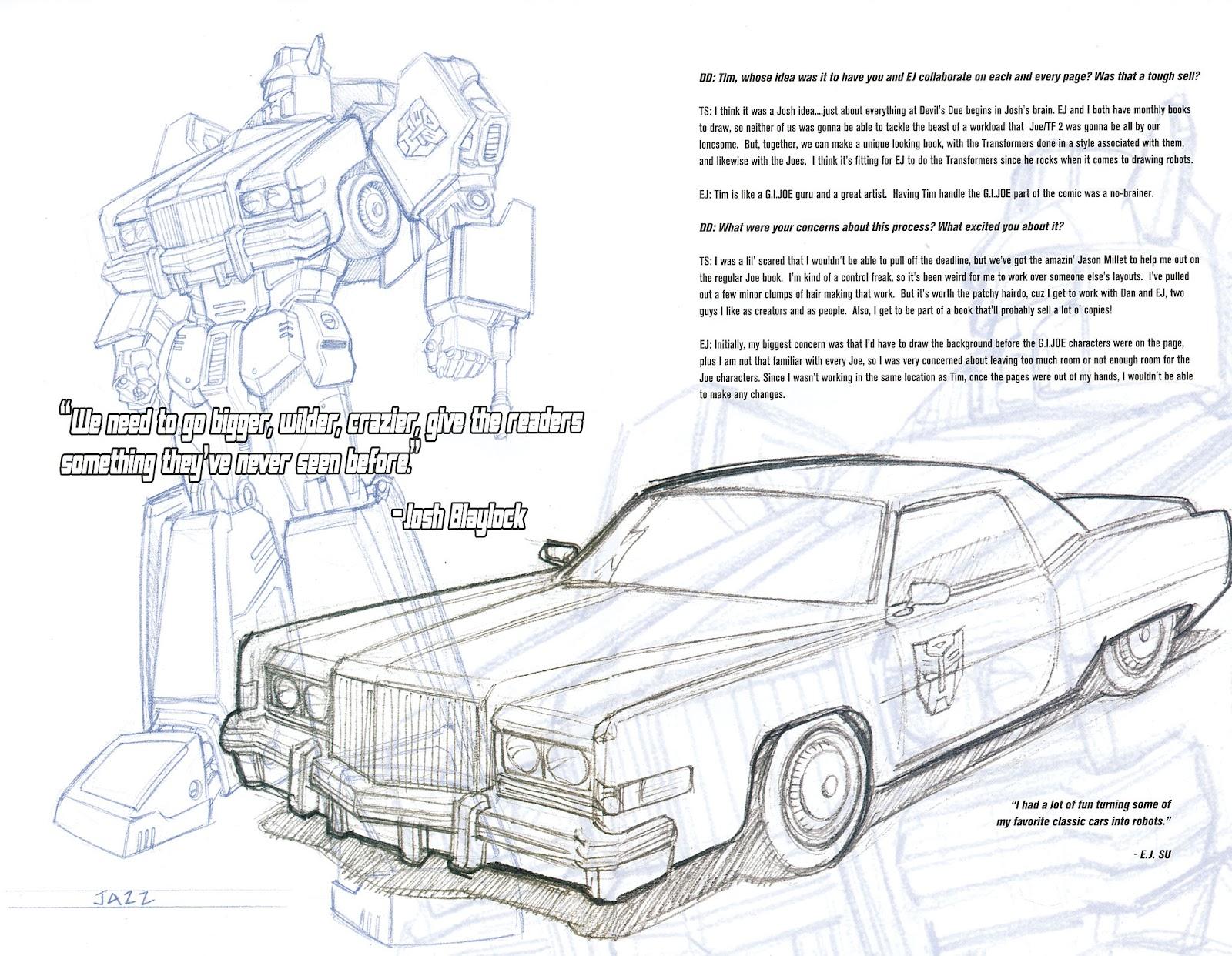 G.I. Joe vs. The Transformers II Issue #0 #1 - English 6