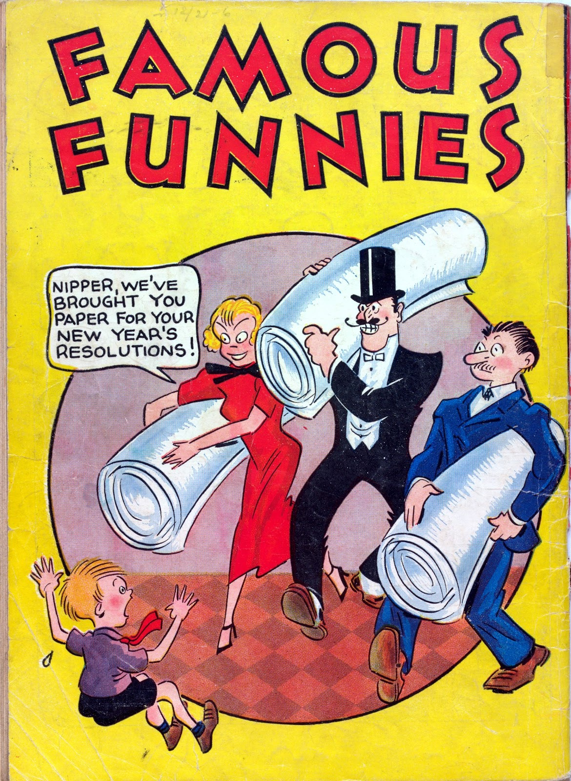 Read online Famous Funnies comic -  Issue #6 - 68