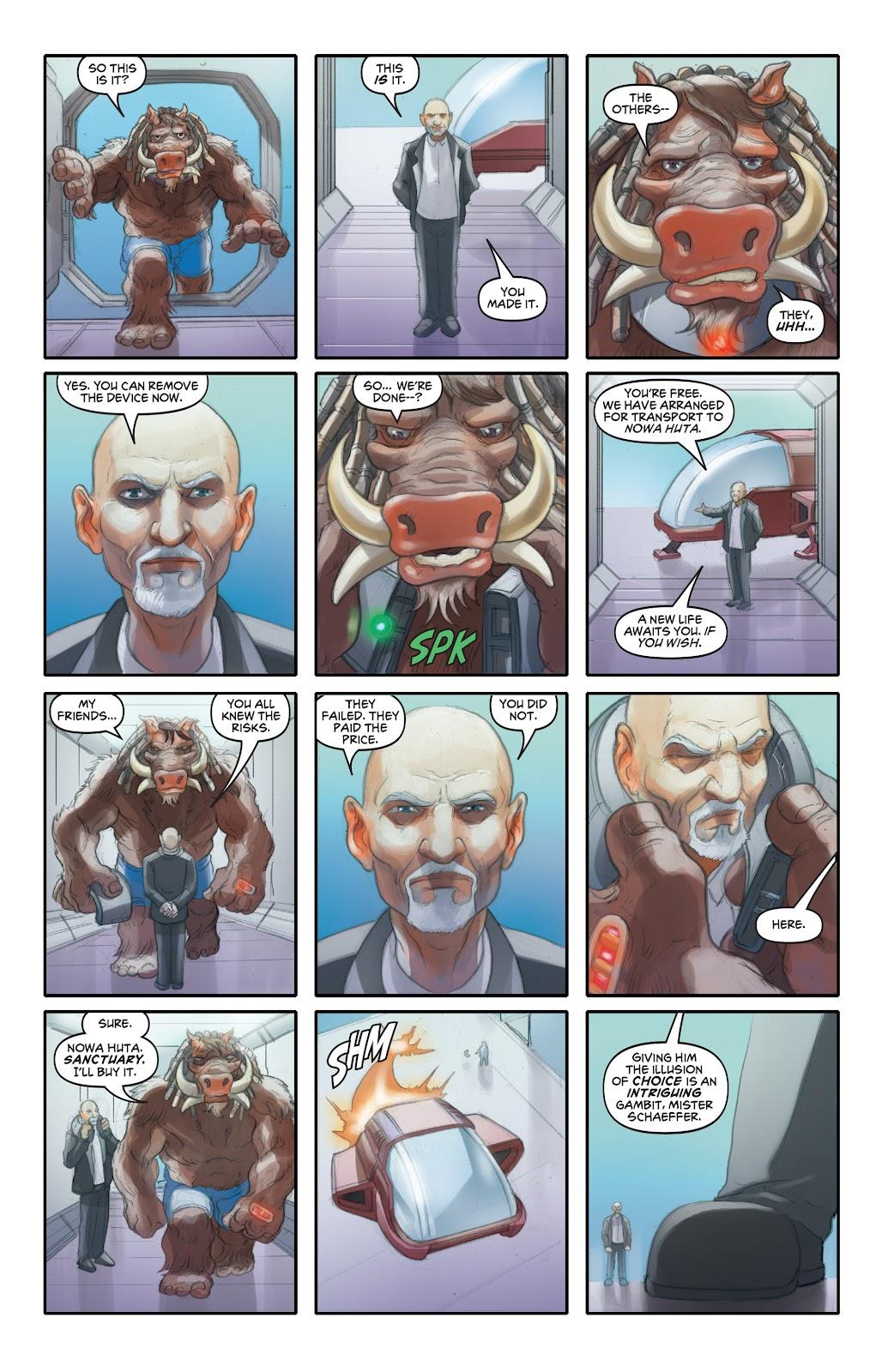 Read online Elephantmen 2261 Season Two: The Pentalion Job comic -  Issue # TPB - 92