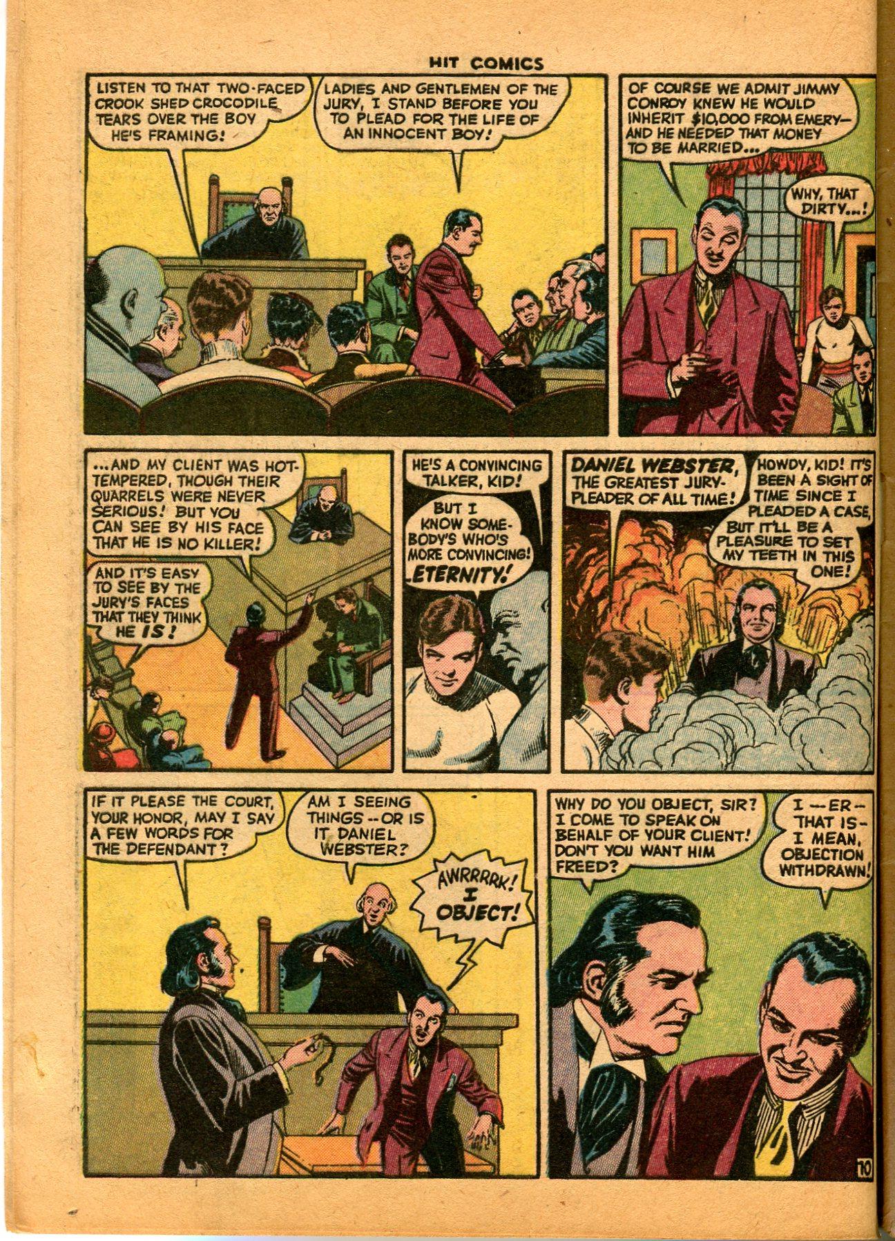 Read online Hit Comics comic -  Issue #35 - 12