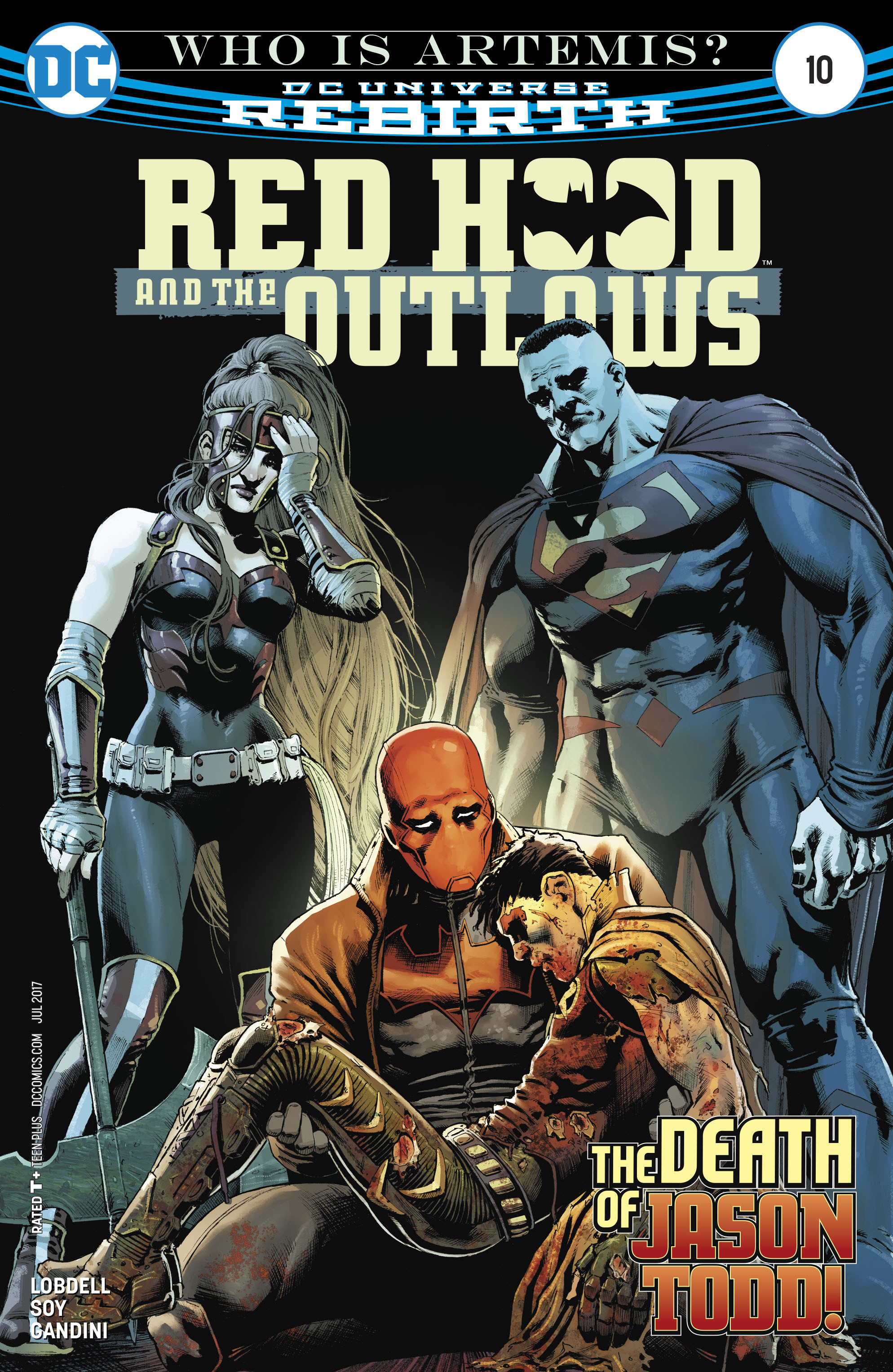 Read online Red Hood and the Outlaws (2016) comic -  Issue #10 - 1