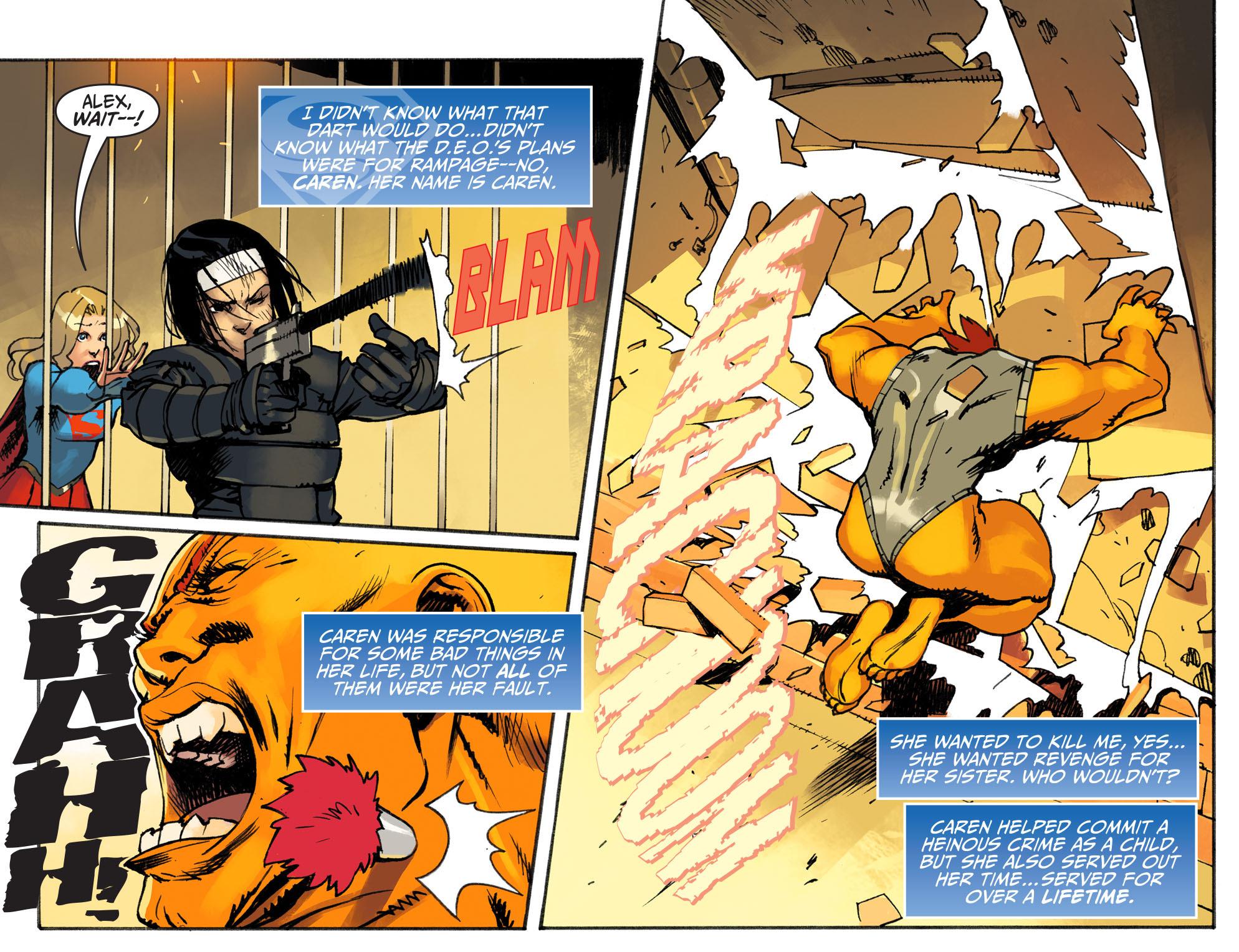 Read online Adventures of Supergirl comic -  Issue #3 - 19