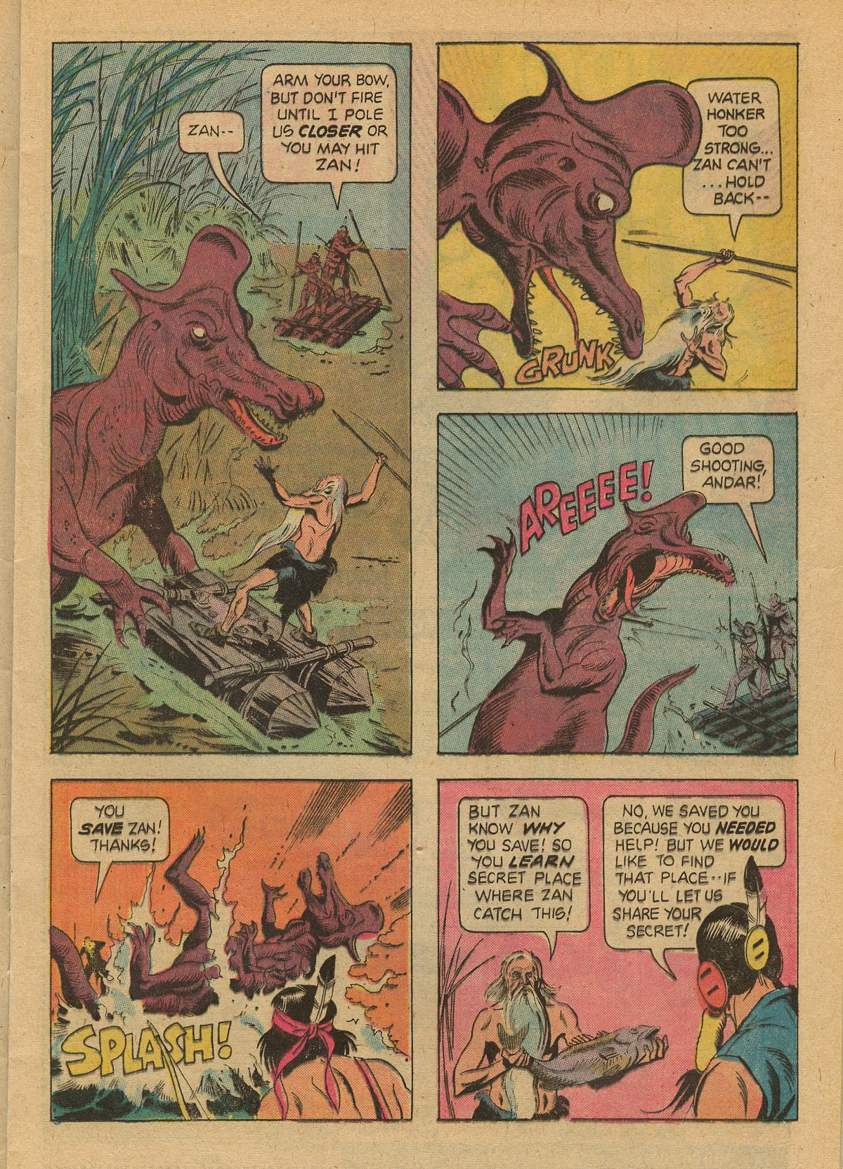 Read online Turok, Son of Stone comic -  Issue #99 - 13