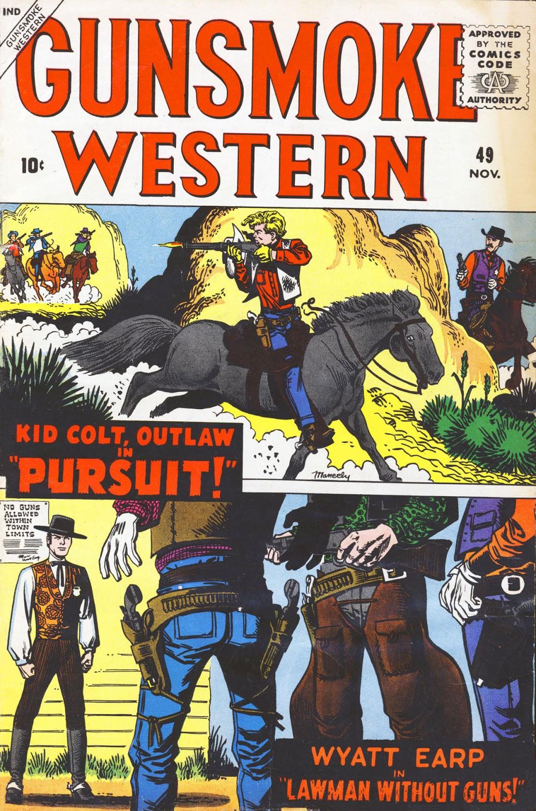 Gunsmoke Western issue 49 - Page 1