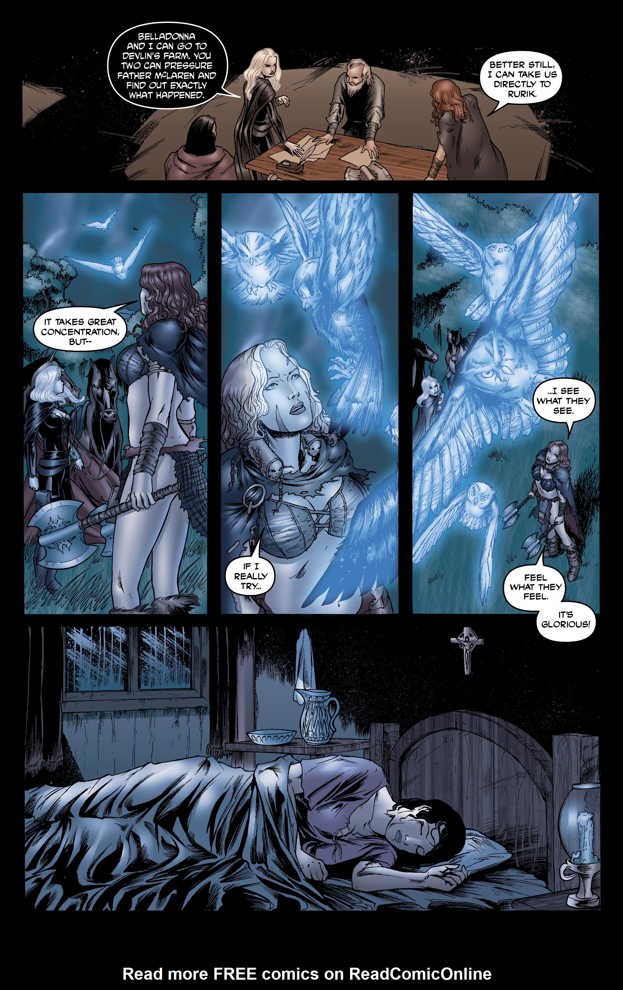 Read online Belladonna: Origins comic -  Issue #7 - 24