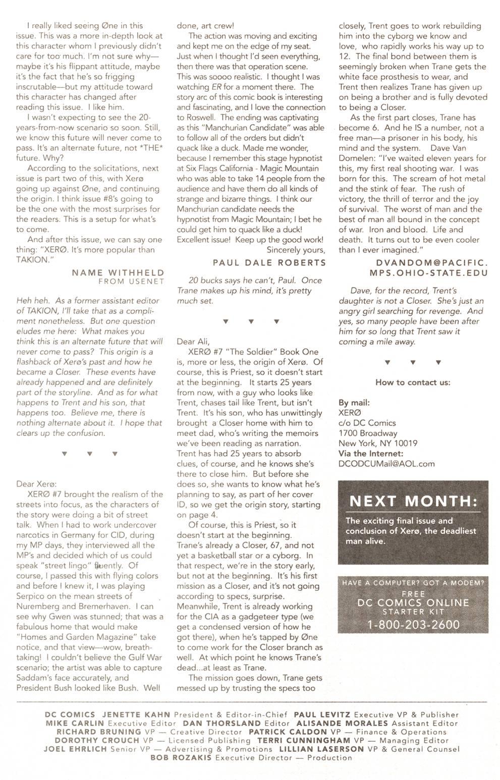Read online Xero comic -  Issue #11 - 27