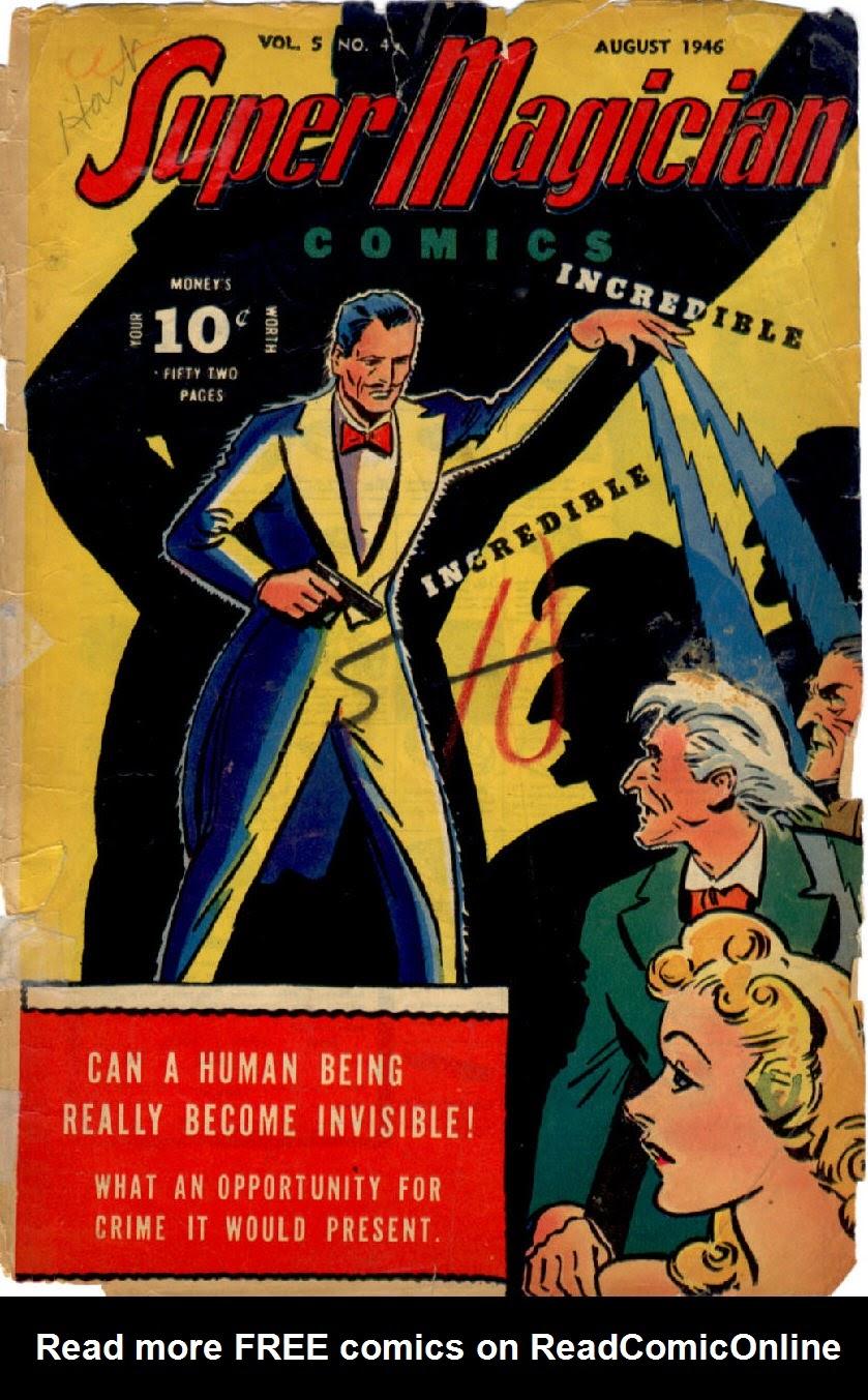Read online Super-Magician Comics comic -  Issue #52 - 1