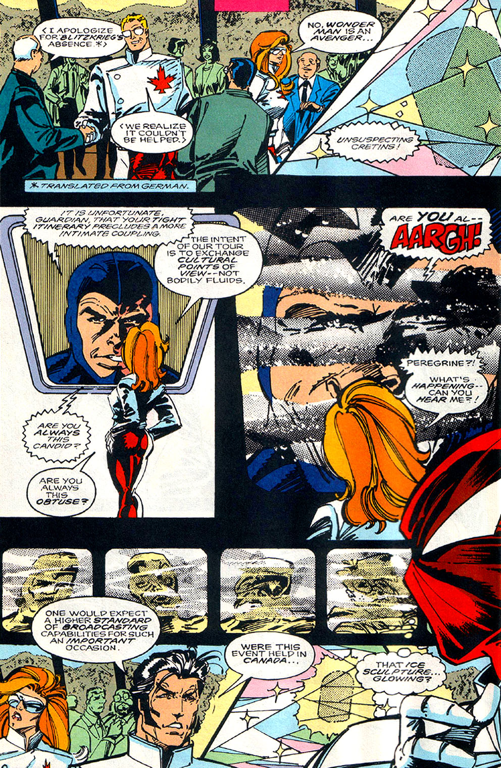 Read online Alpha Flight (1983) comic -  Issue #108 - 4