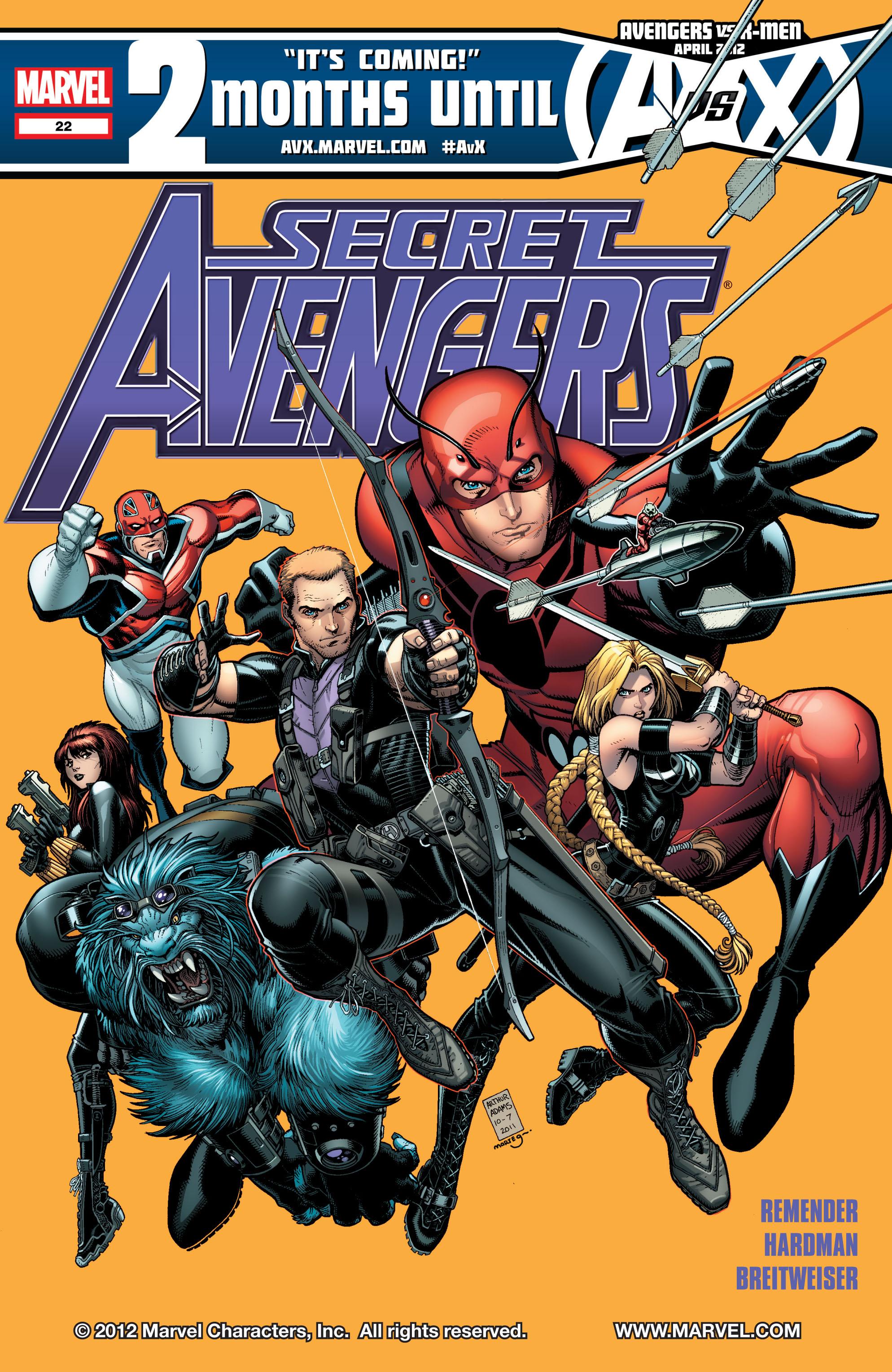 Read online Secret Avengers (2010) comic -  Issue #22 - 1