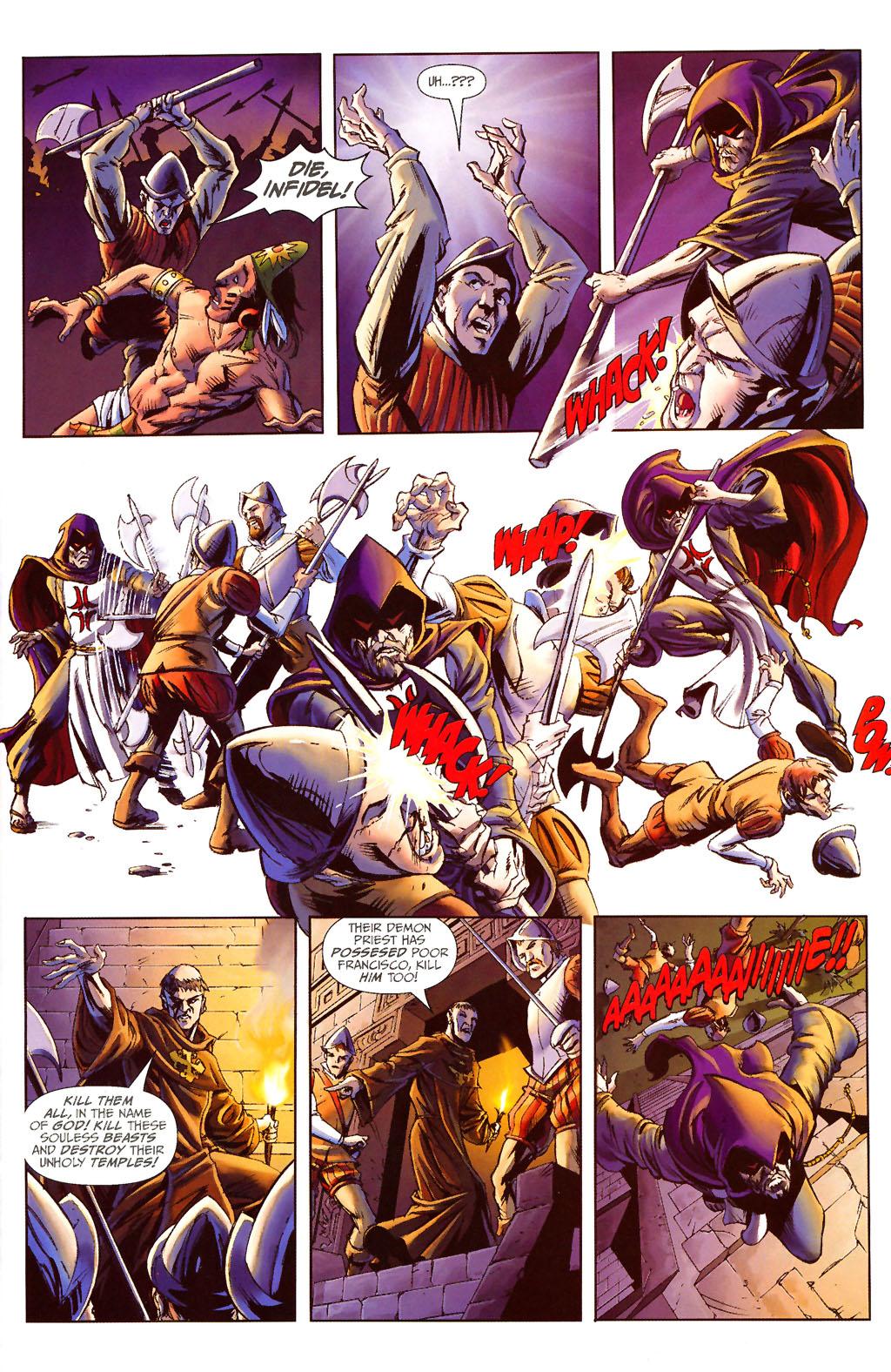 Read online ShadowHawk (2005) comic -  Issue #13 - 8