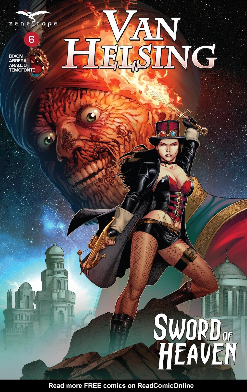 Read online Van Helsing: Sword of Heaven comic -  Issue #6 - 1