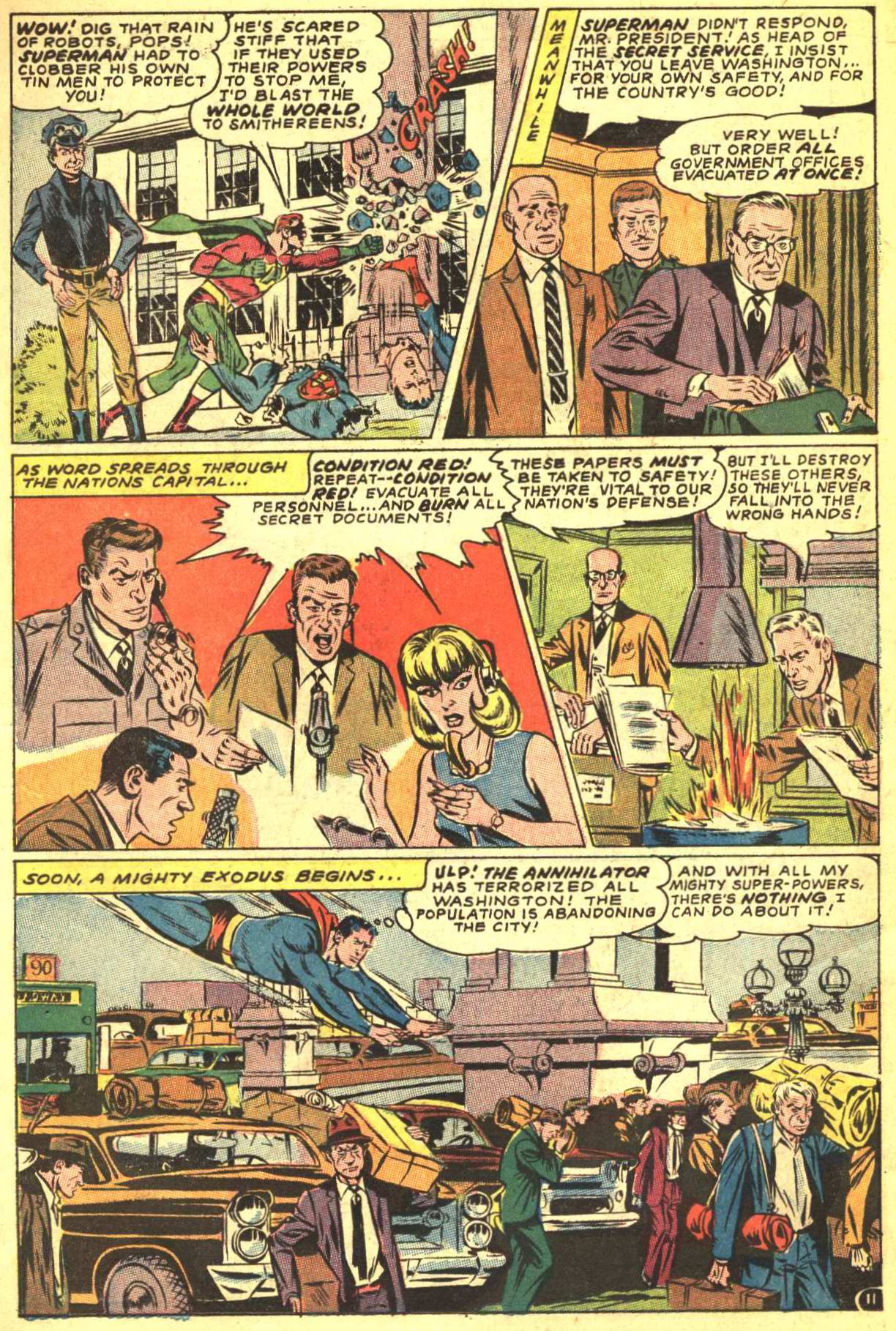 Read online Action Comics (1938) comic -  Issue #356 - 13