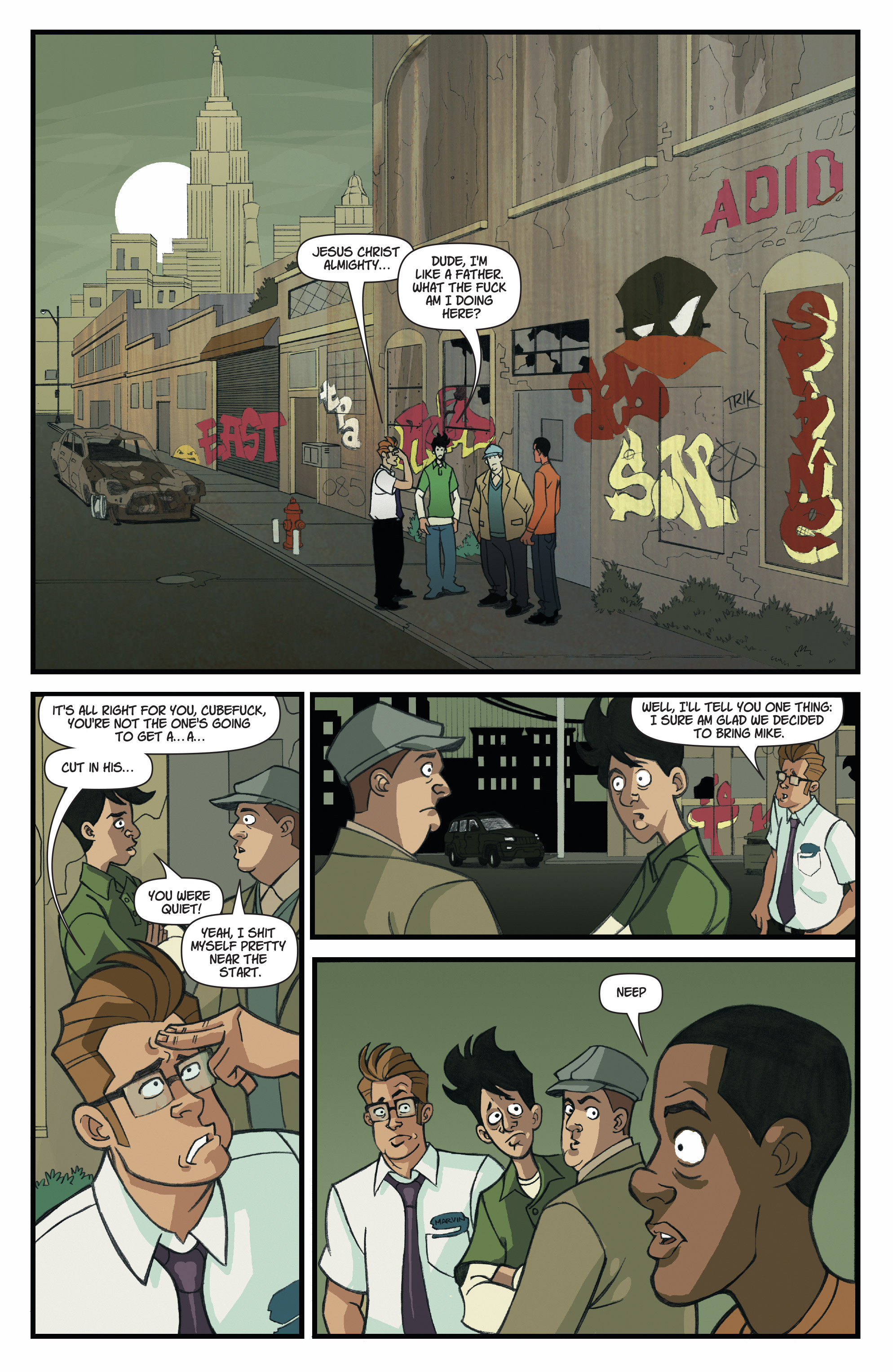 Read online A Train Called Love comic -  Issue #4 - 23