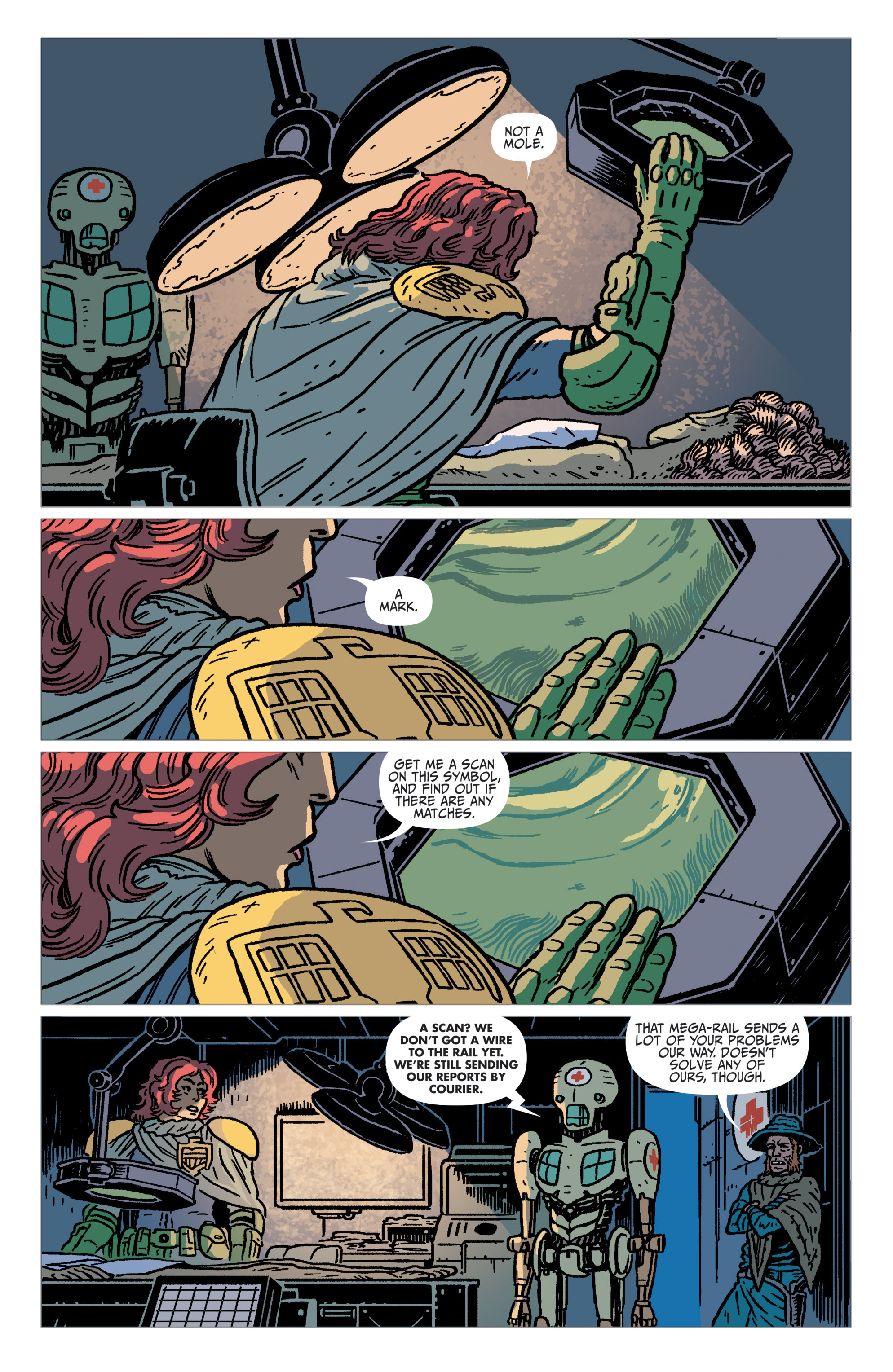 Read online Judge Dredd: The Blessed Earth comic -  Issue #1 - 15