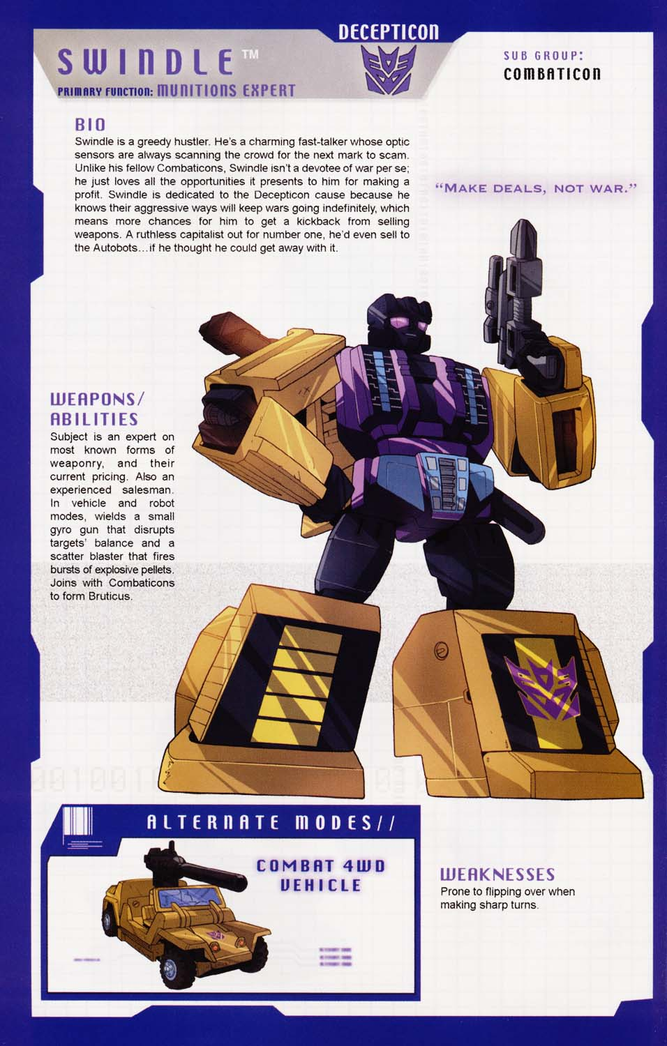 Read online Transformers: More than Meets the Eye comic -  Issue #1 - 64
