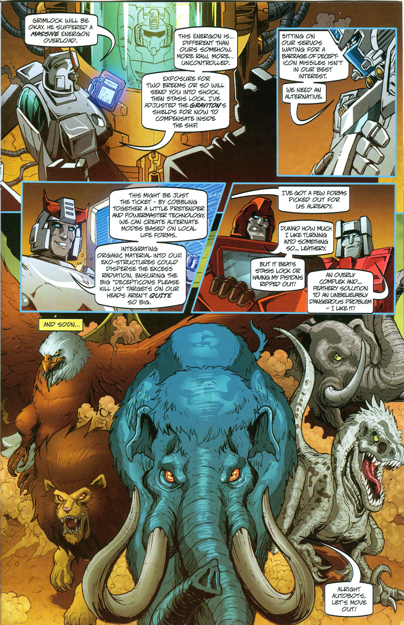 Read online Transformers: Collectors' Club comic -  Issue #49 - 11