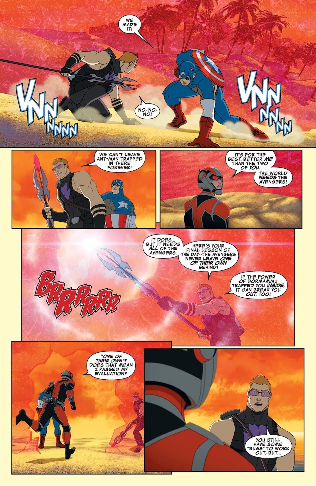 Read online Marvel Universe Avengers Assemble Season 2 comic -  Issue #9 - 28