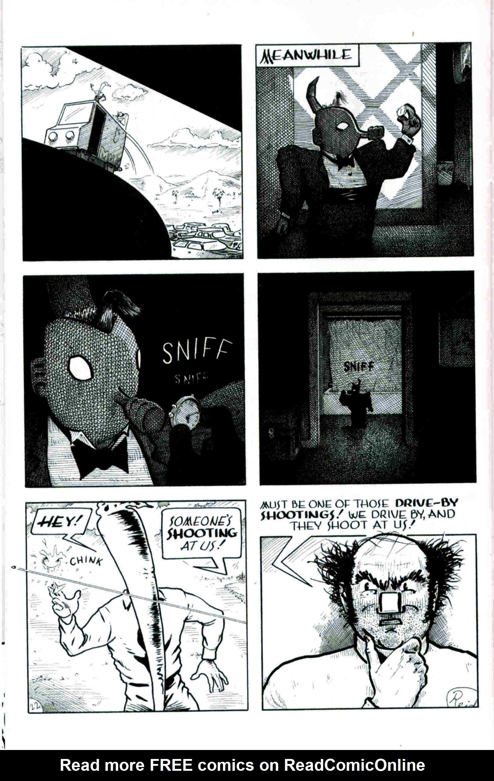 Read online Flaming Carrot & Reid Fleming, World's Toughest Milkman comic -  Issue # Full - 22