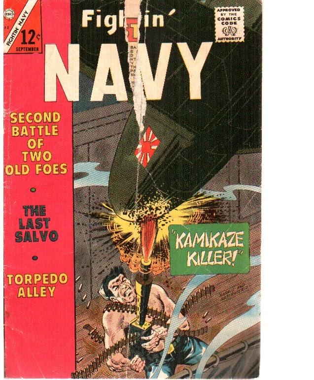 Read online Fightin' Navy comic -  Issue #122 - 1