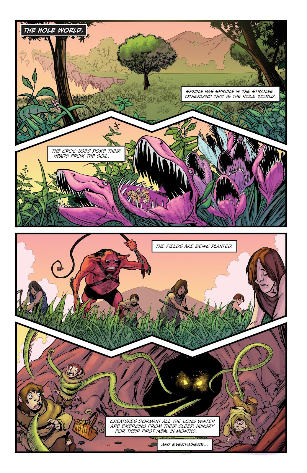 Read online Curse Words Spring Has Sprung Special comic -  Issue # Full - 3