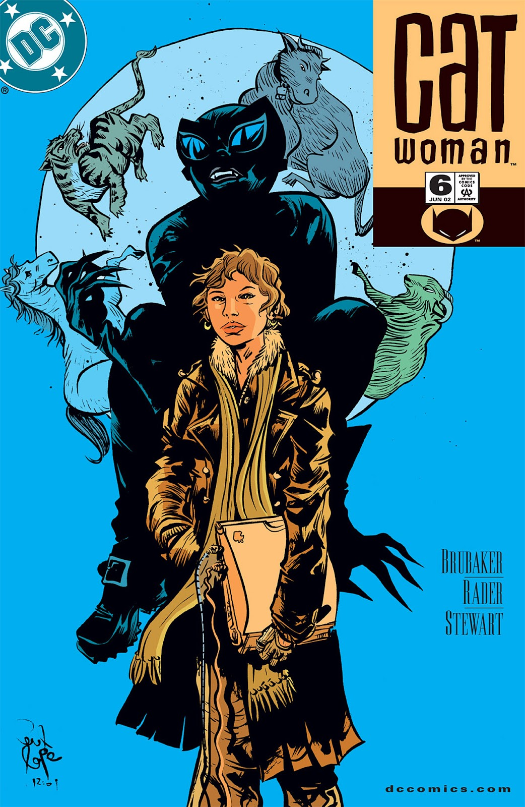 Catwoman (2002) Issue #6 #6 - English 1