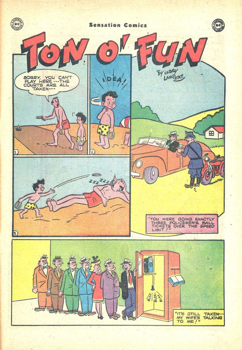 Read online Sensation (Mystery) Comics comic -  Issue #68 - 41