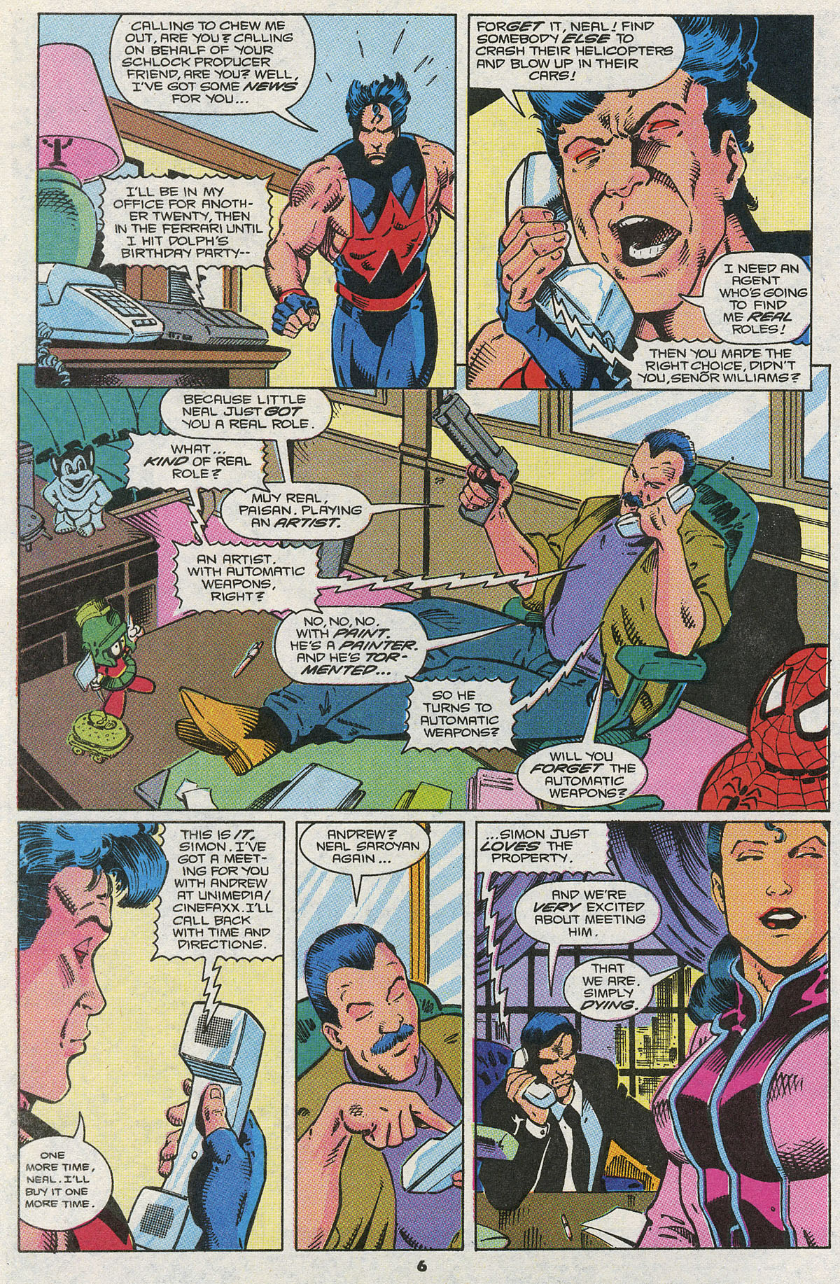 Read online Wonder Man (1991) comic -  Issue #4 - 6