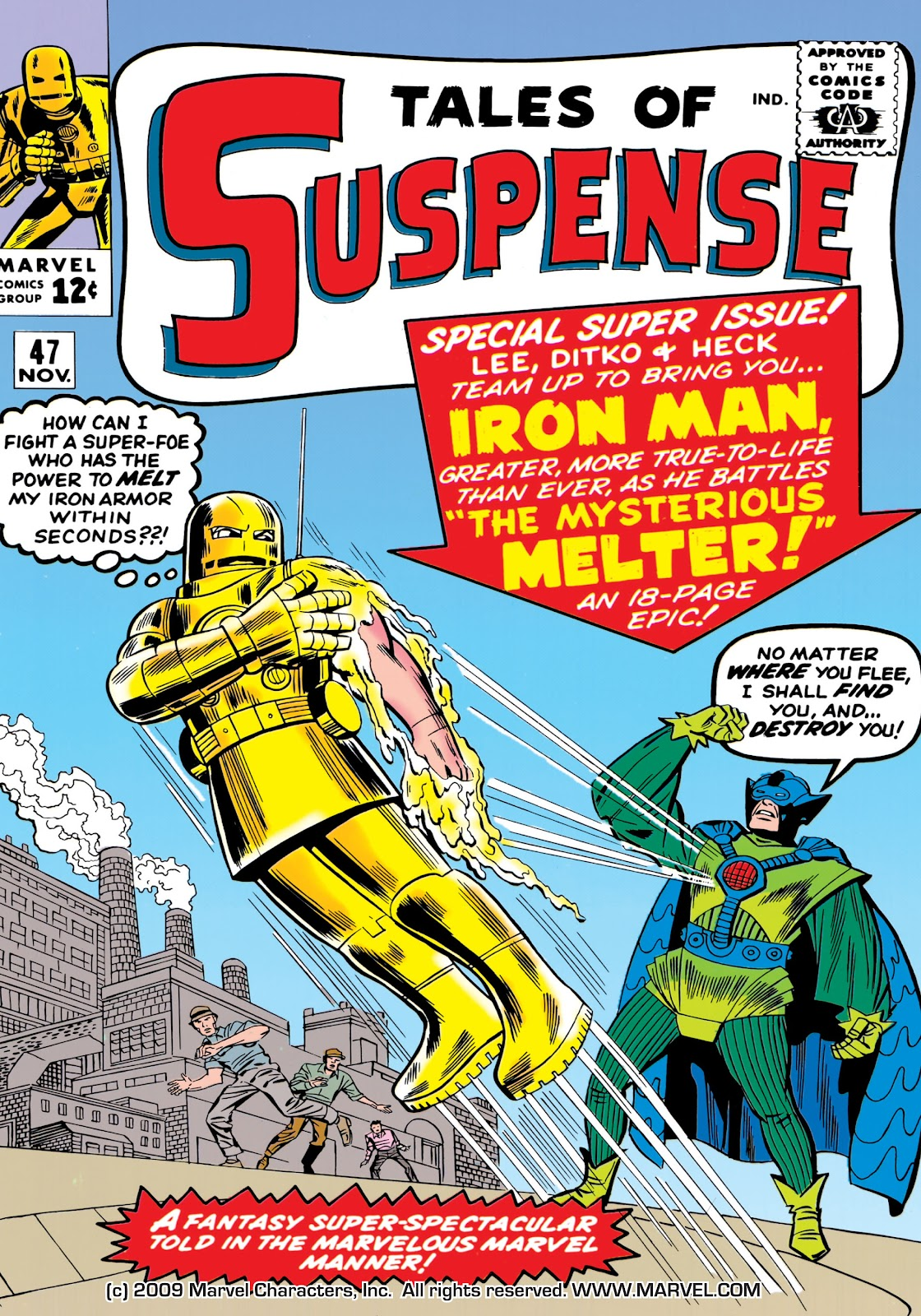 Read online Marvel Masterworks: The Invincible Iron Man comic -  Issue # TPB 1 (Part 2) - 20