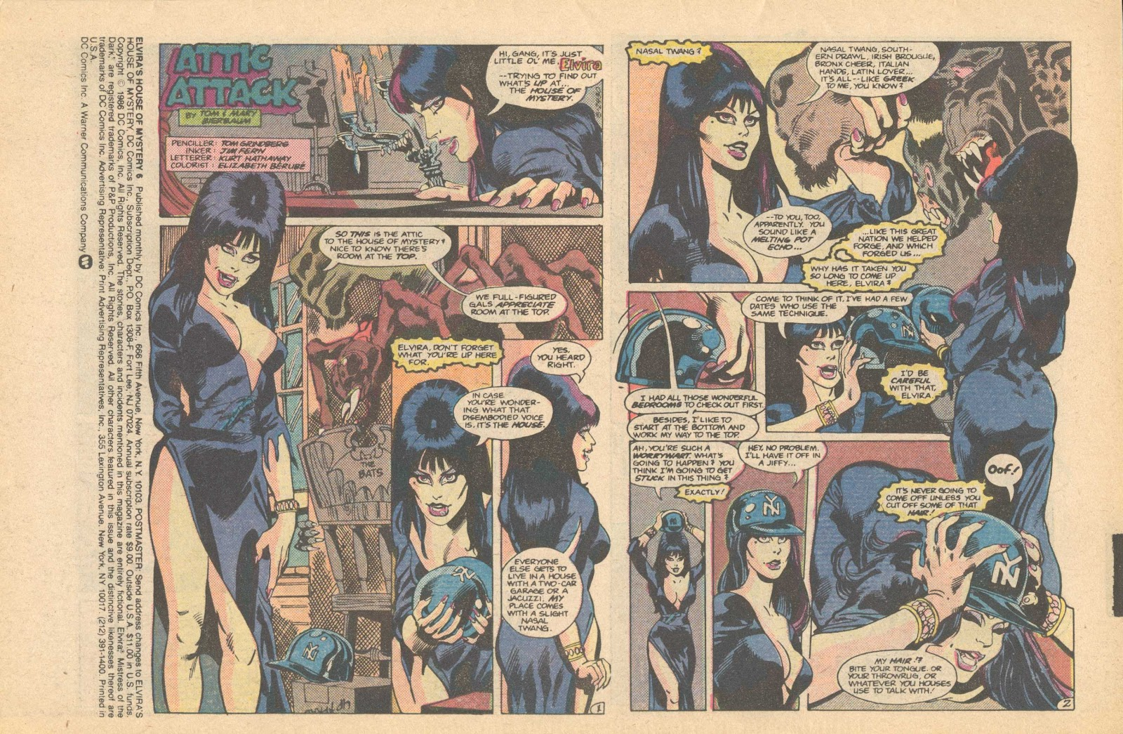 Elvira's House of Mystery Issue #6 #7 - English 3