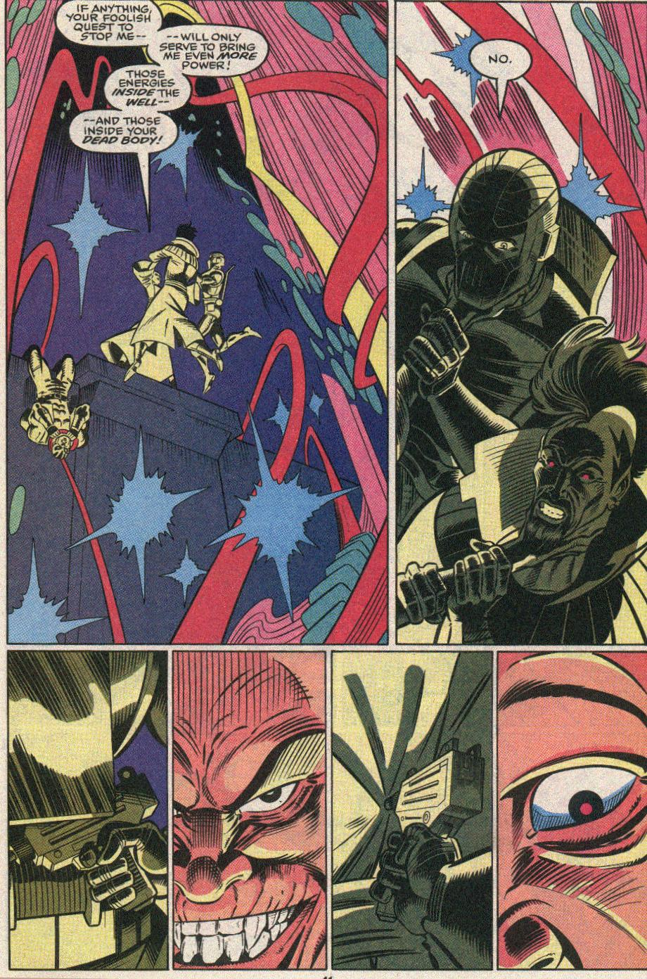 The New Warriors Issue #25 #29 - English 35